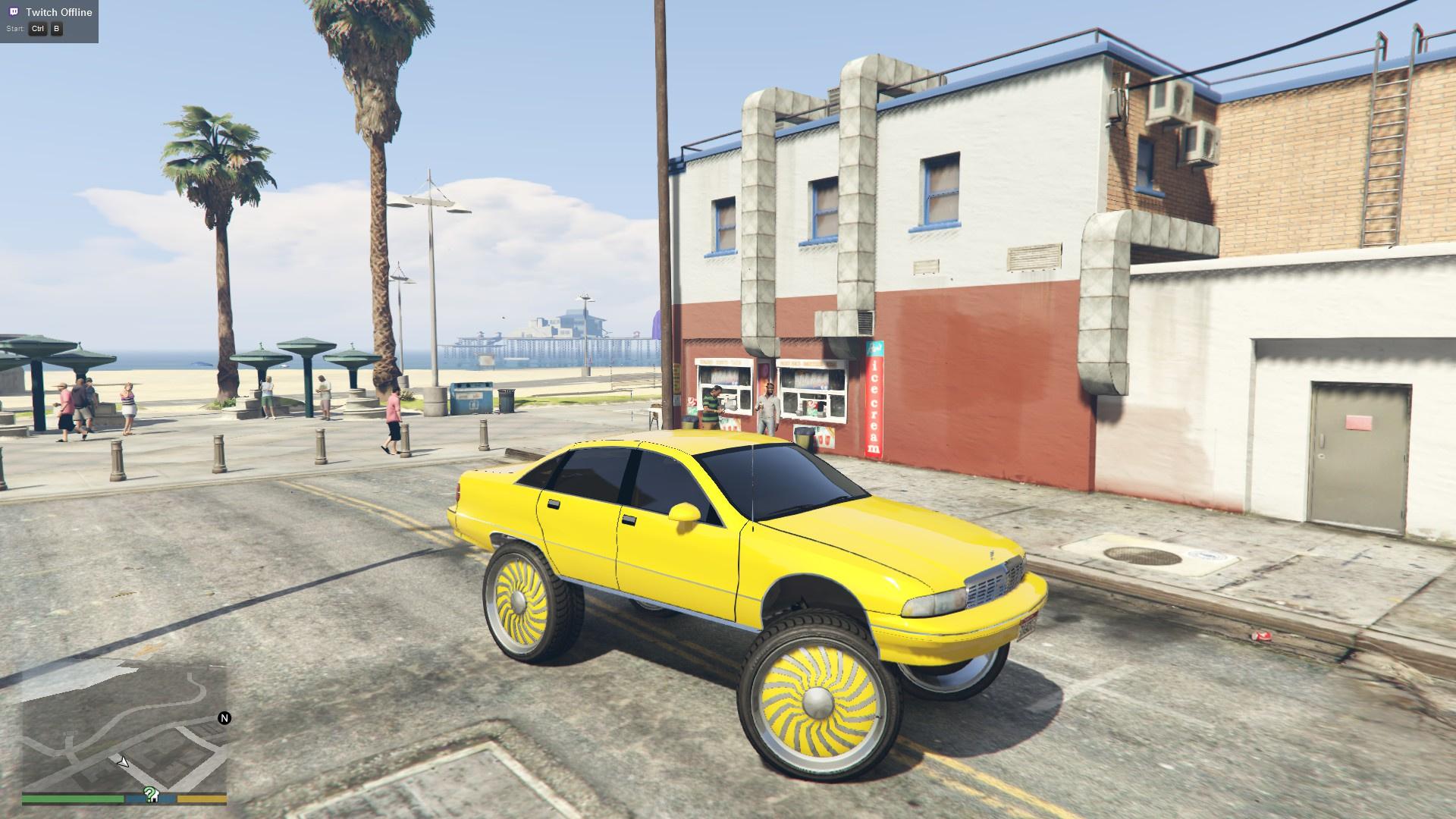 91 Chevy Caprice Donk Gta5 Mods Com