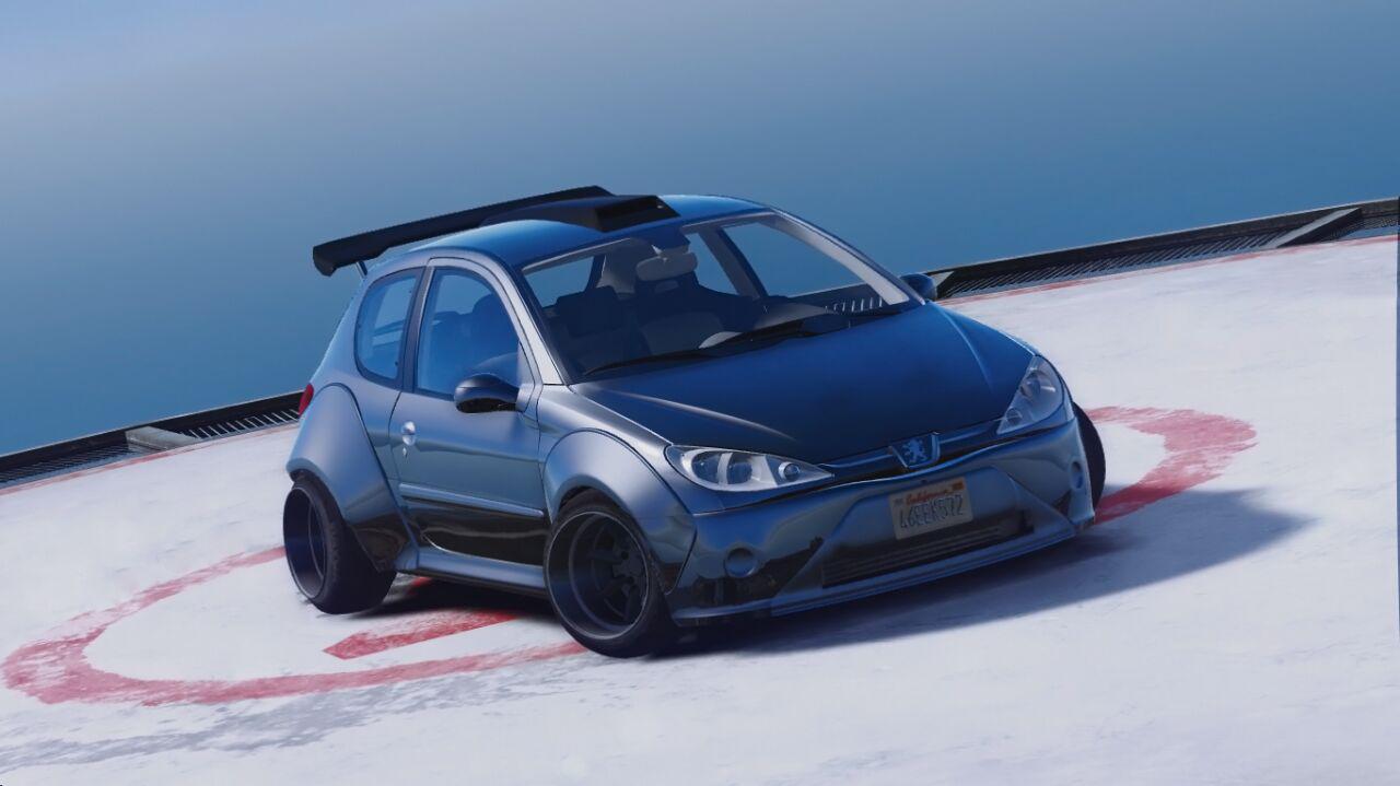 Peugeot 206 Lopi Bodykit Add On Replace Tuning Gta5 Mods Com