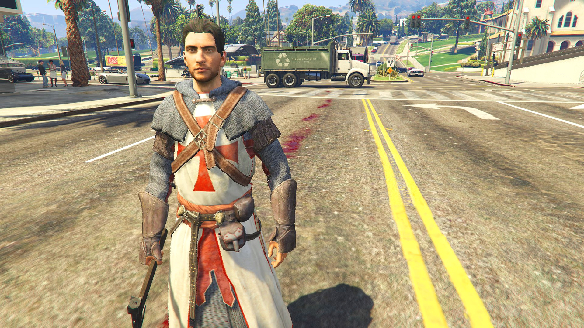 Acr Templar 11th Century Armor Add On Ped Gta5 Mods Com