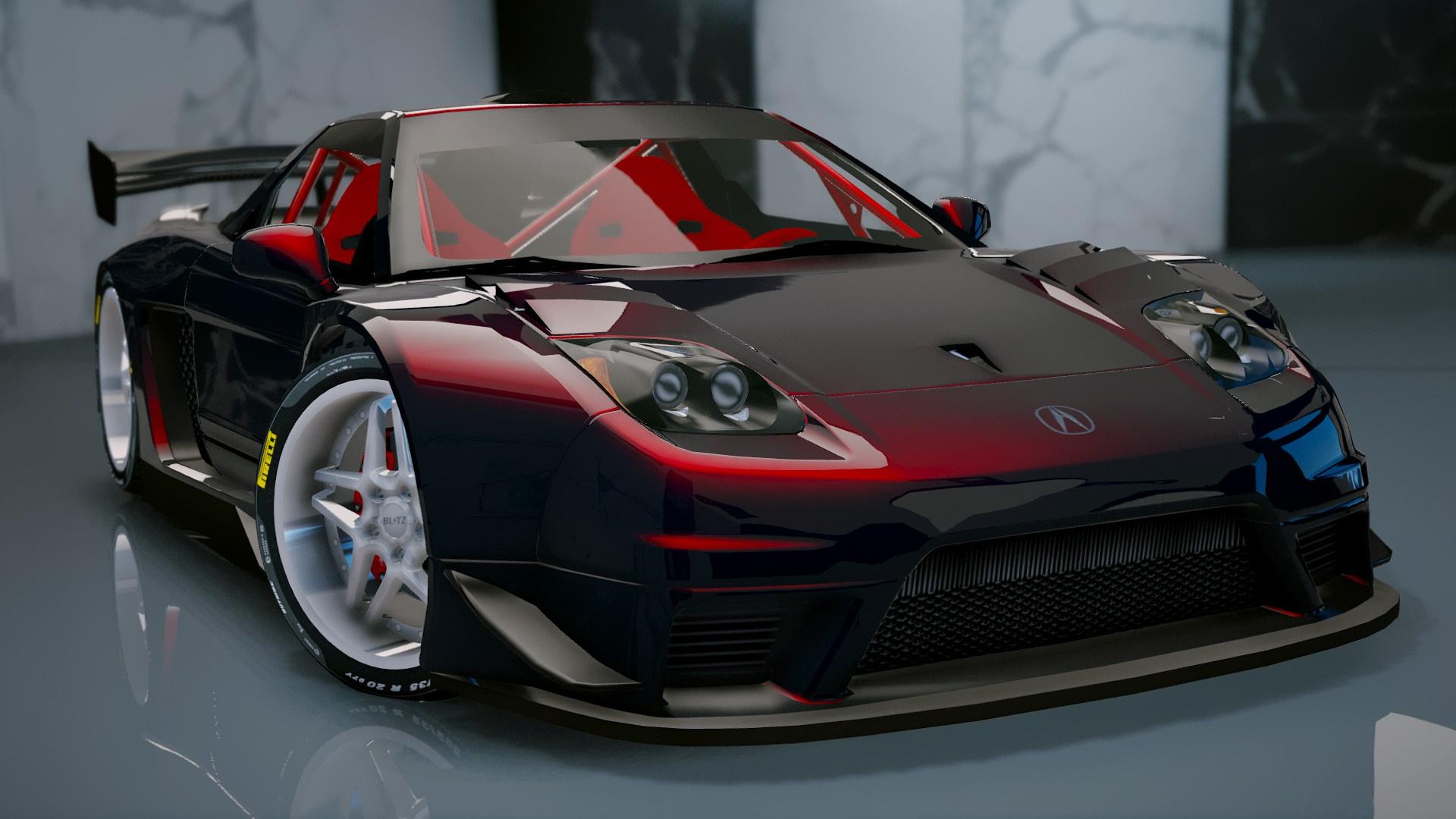 Acura NSX 2002 [Add ] GTA5 Mods