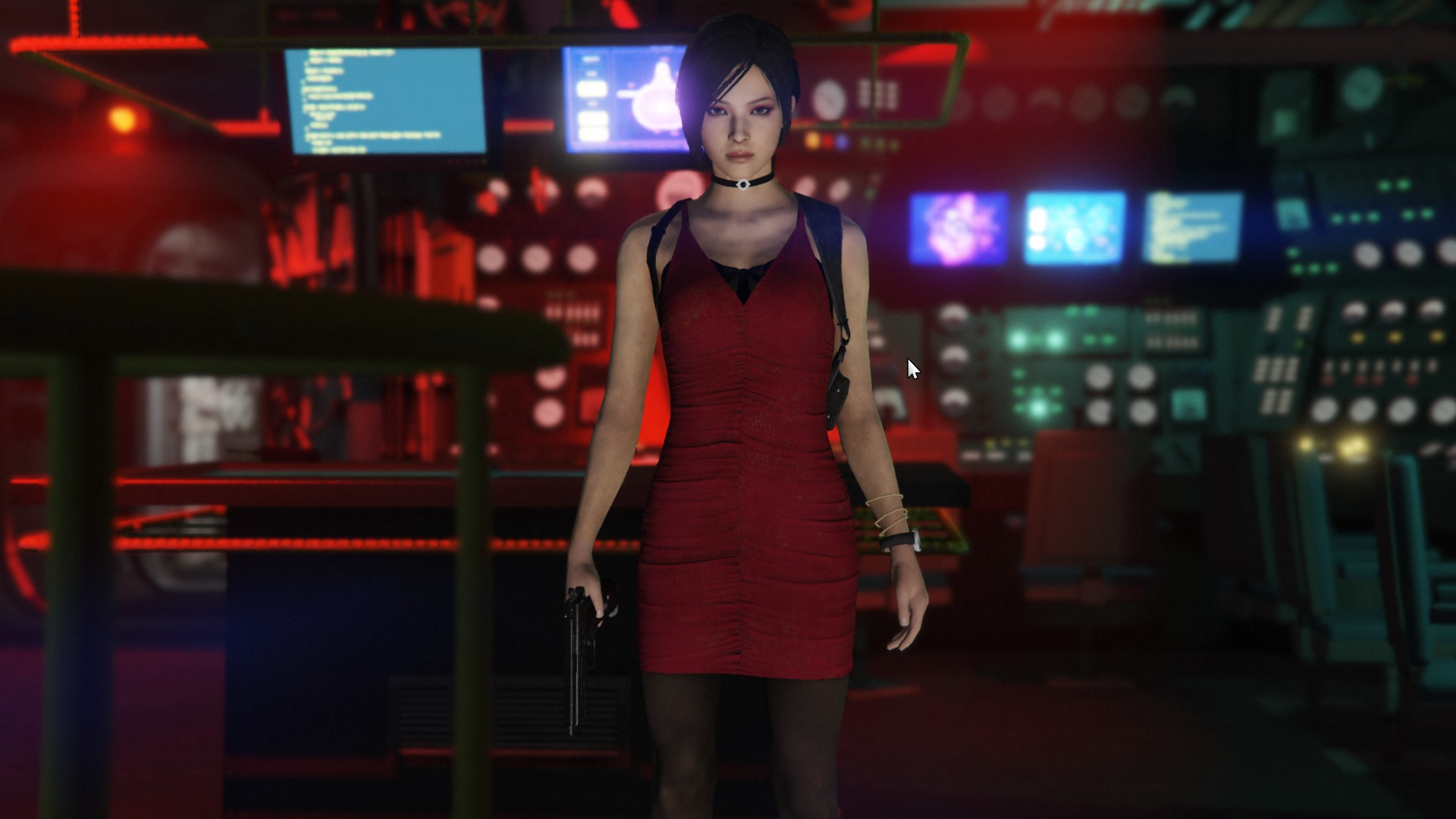 Ada Wong Resident Evil 2 Remake [Add-On Ped | Replace] - GTA5-Mods com