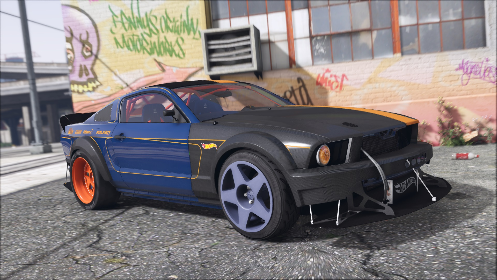 Ford Mustang 05 Hot Wheels Add On Gta5 Modscom
