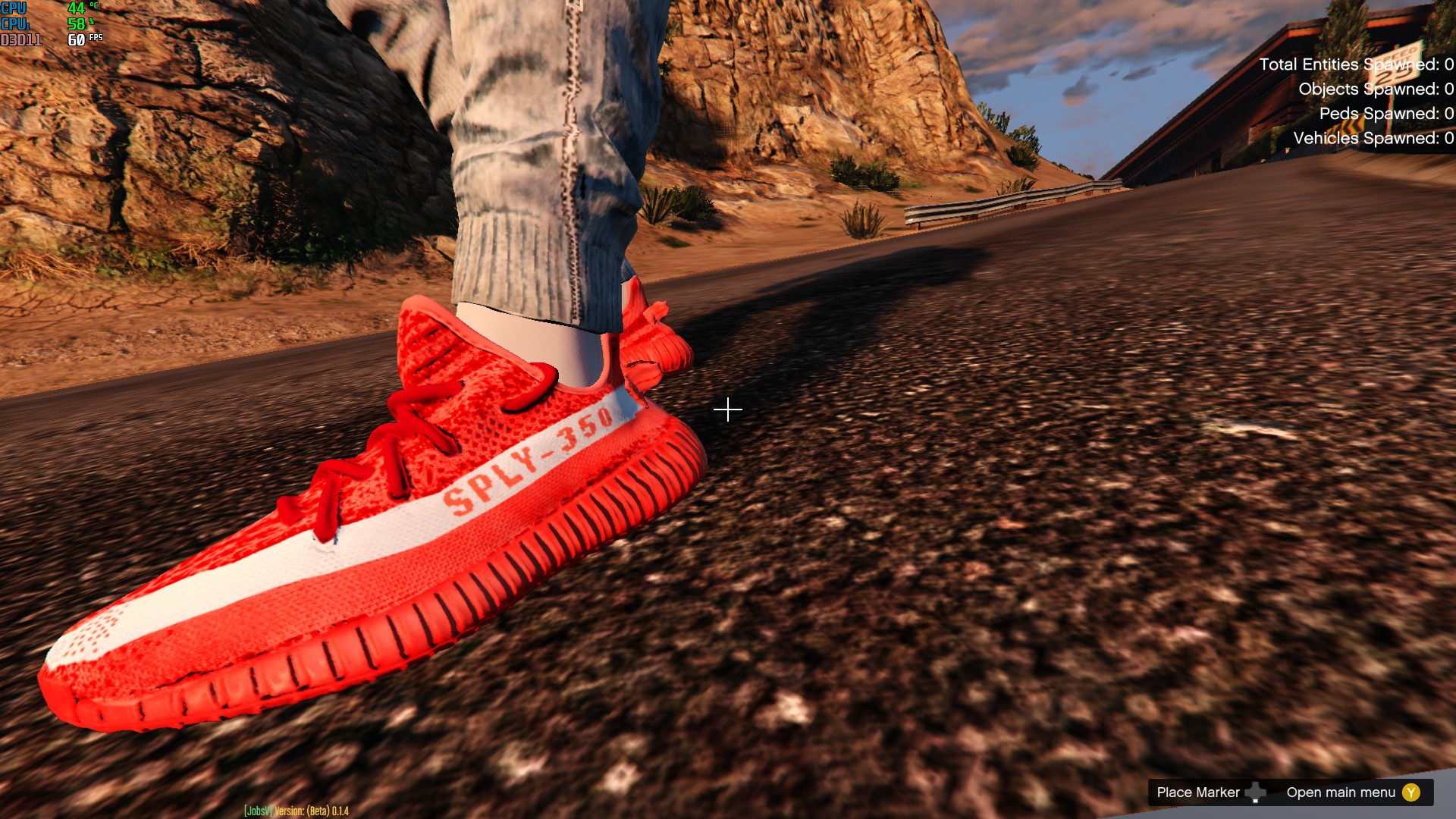 low priced 54dd9 39f56 Adidas Yeezy Boost 350 V2 Teach Red Zebra - GTA5-Mods.com