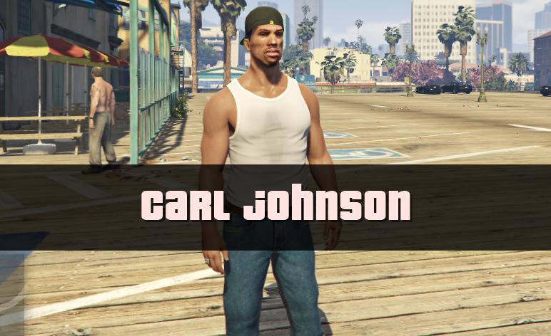 gta san andreas carl johnson remastered