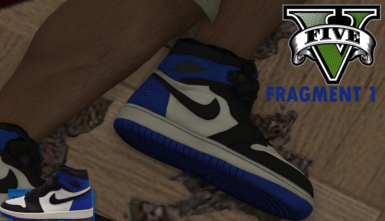 9cc5a136768b8c Air Jordan 1 Baron and Fragment reskins - GTA5-Mods.com