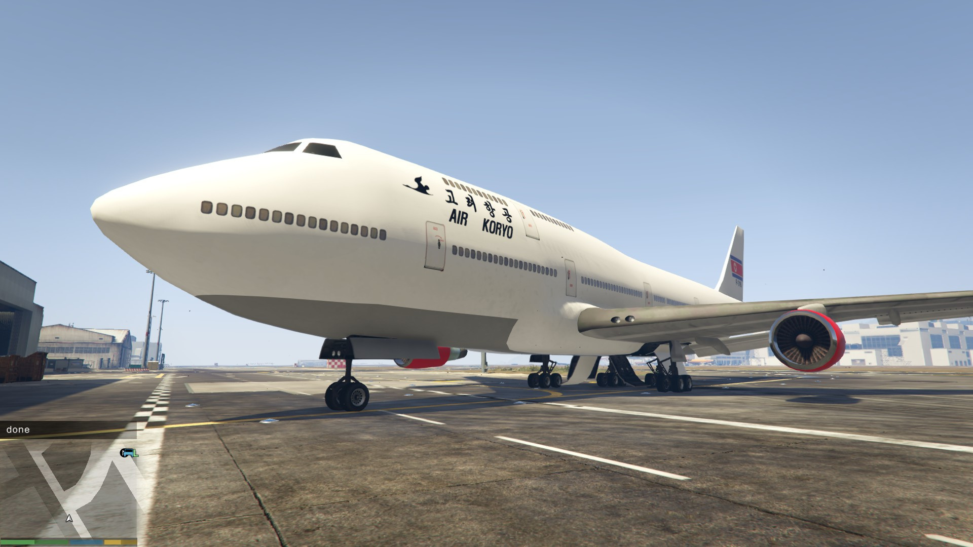 air koryo north korea jumbo jet gta5modscom