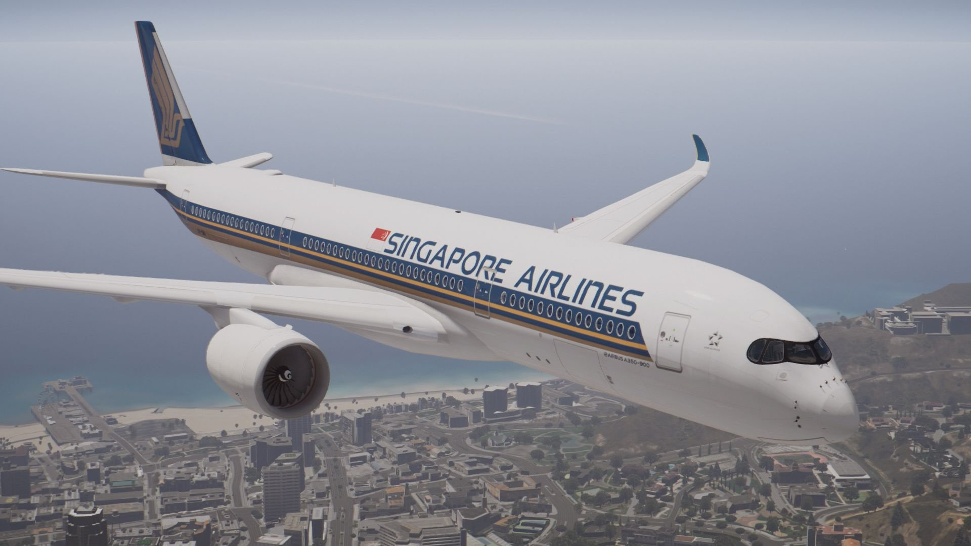 Airbus A350-900XWB [Add-On] - GTA5-Mods com