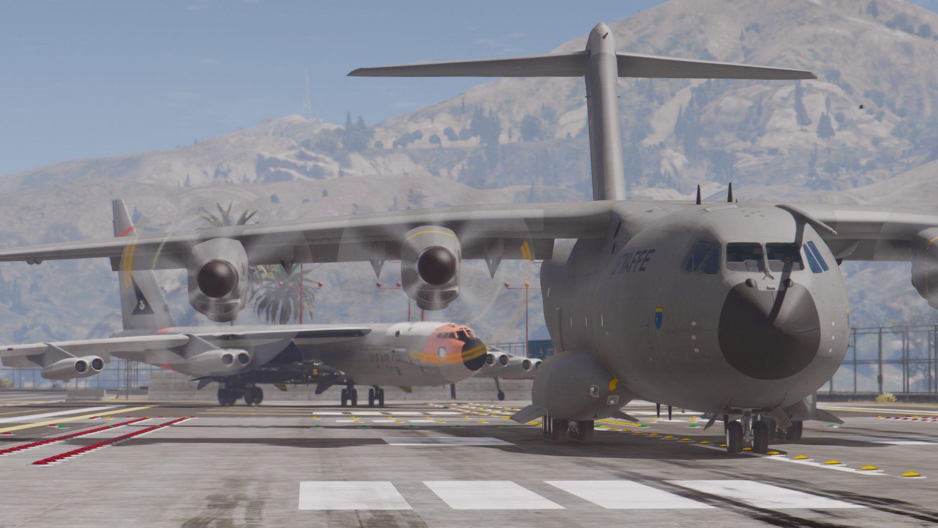 Airbus A400M Atlas (German Air Force) [Add-On] - GTA5-Mods com