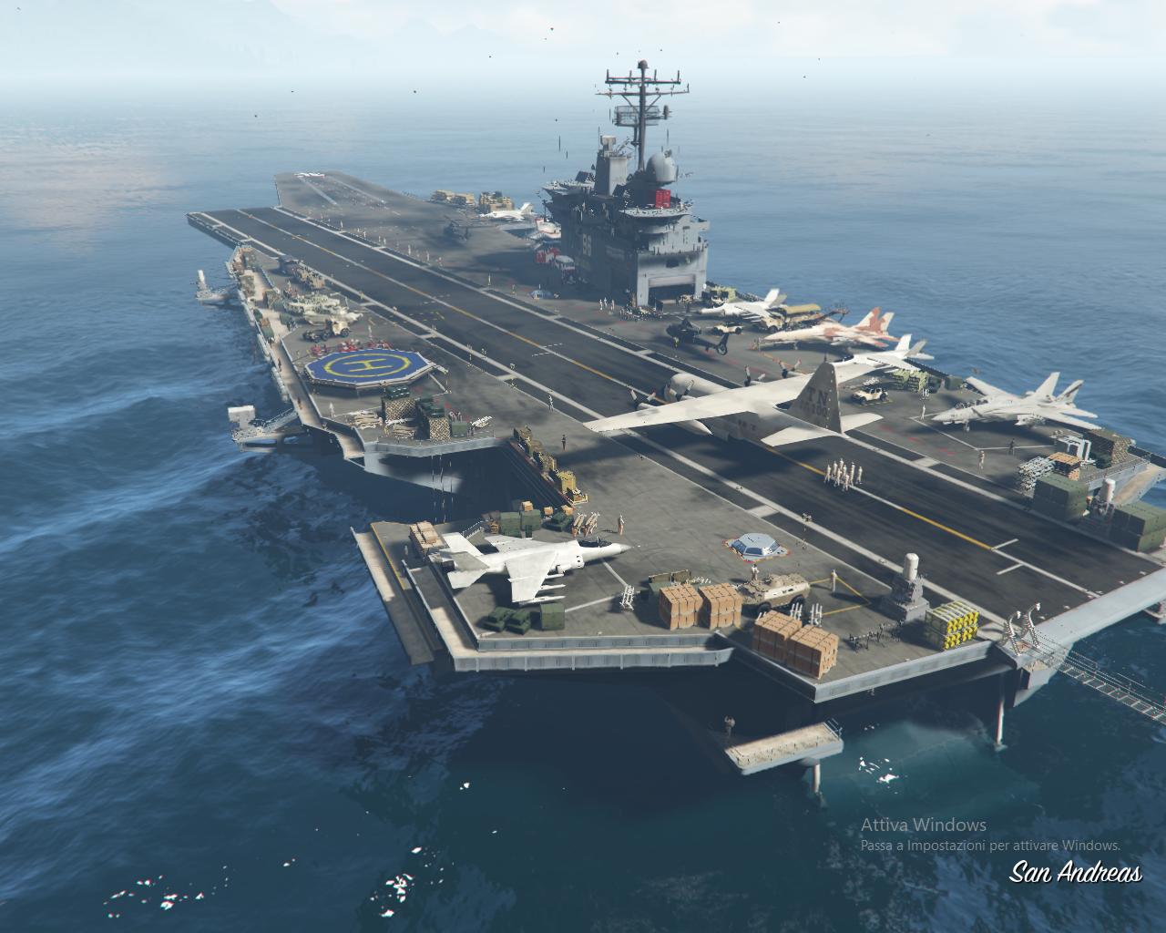 Aircraft Carrier [Menyoo] - GTA5-Mods.com