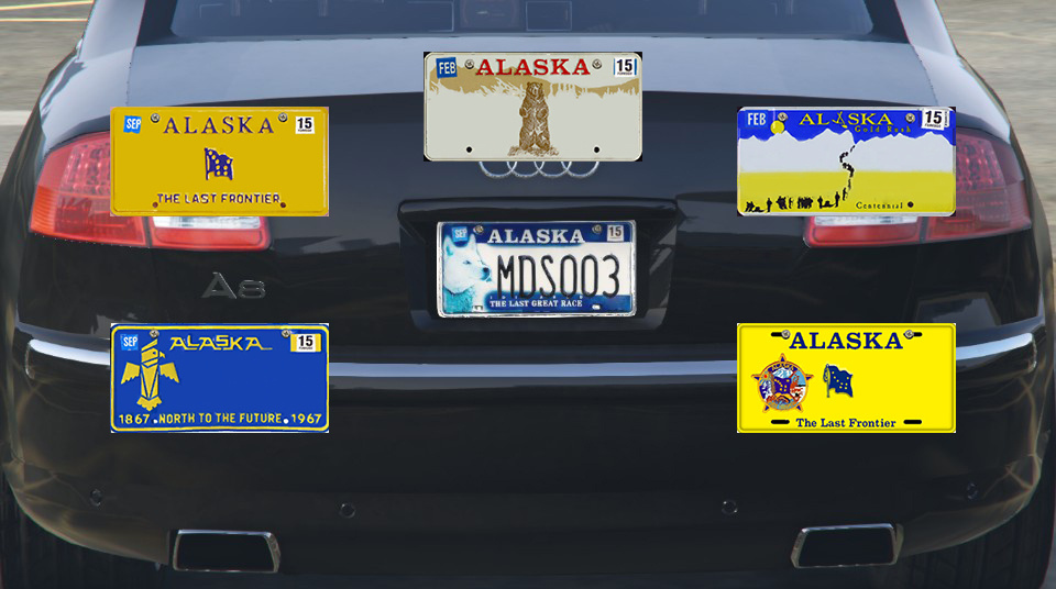 655ee1 alaska license plate pack