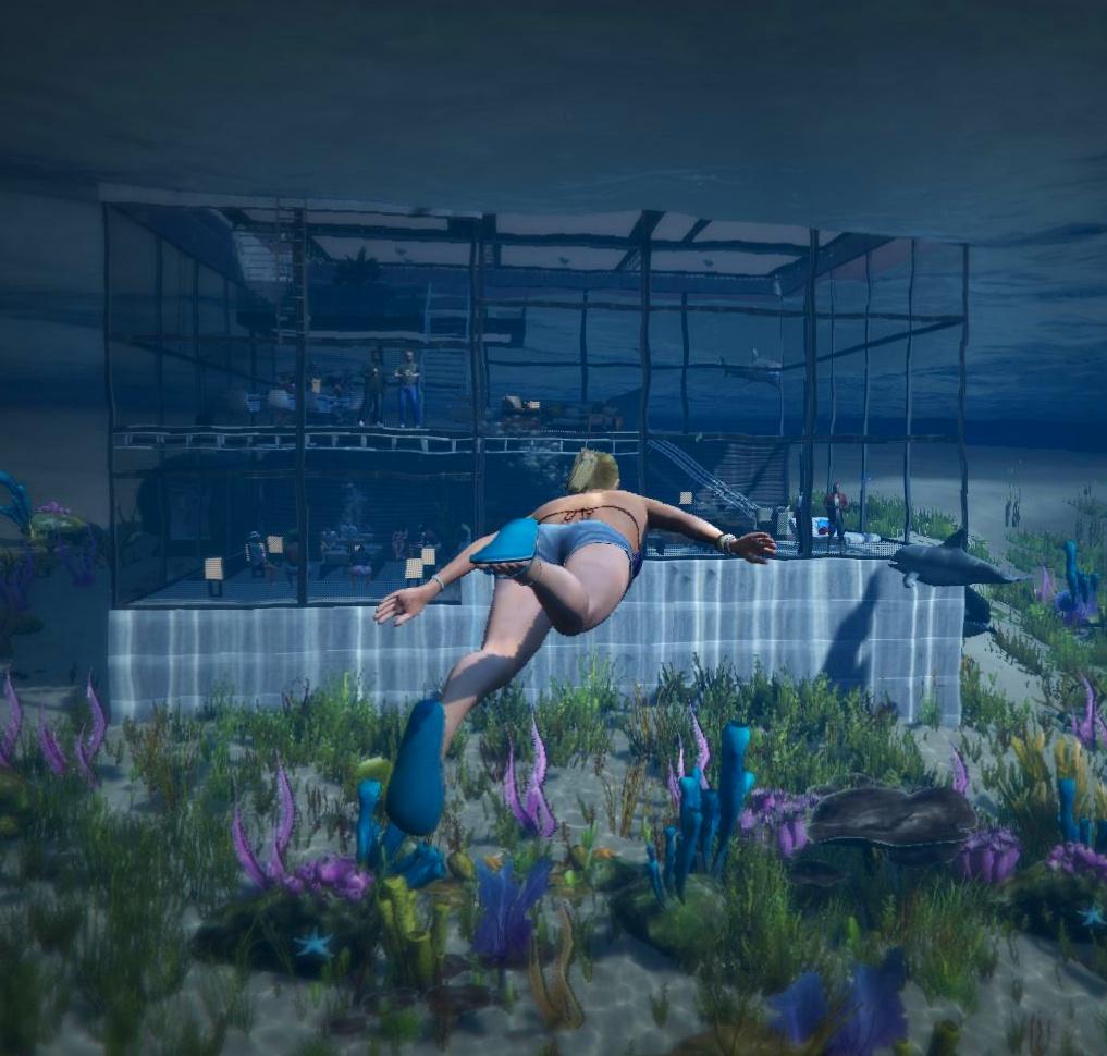 Gta 5 Garage: Underwater House