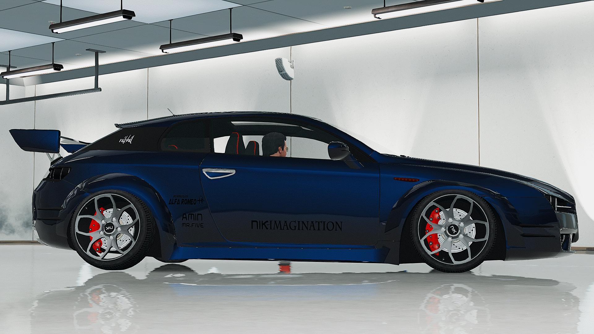 Alfa Romeo Brera Modified Nik Imagination Gta5 Mods Com