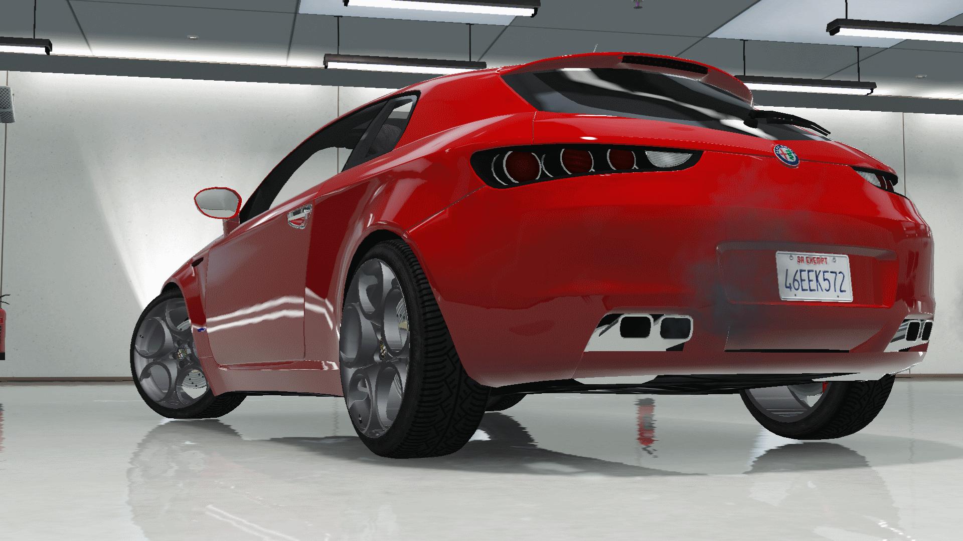 Alfa Romeo Brera Stock [Add Replace] GTA5 Mods