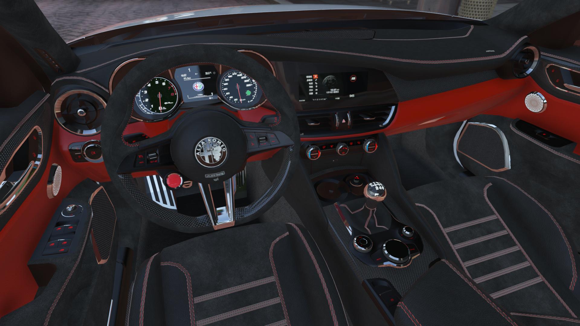 Alfa Romeo Giulia Quadrifoglio 17 GTA5 Mods