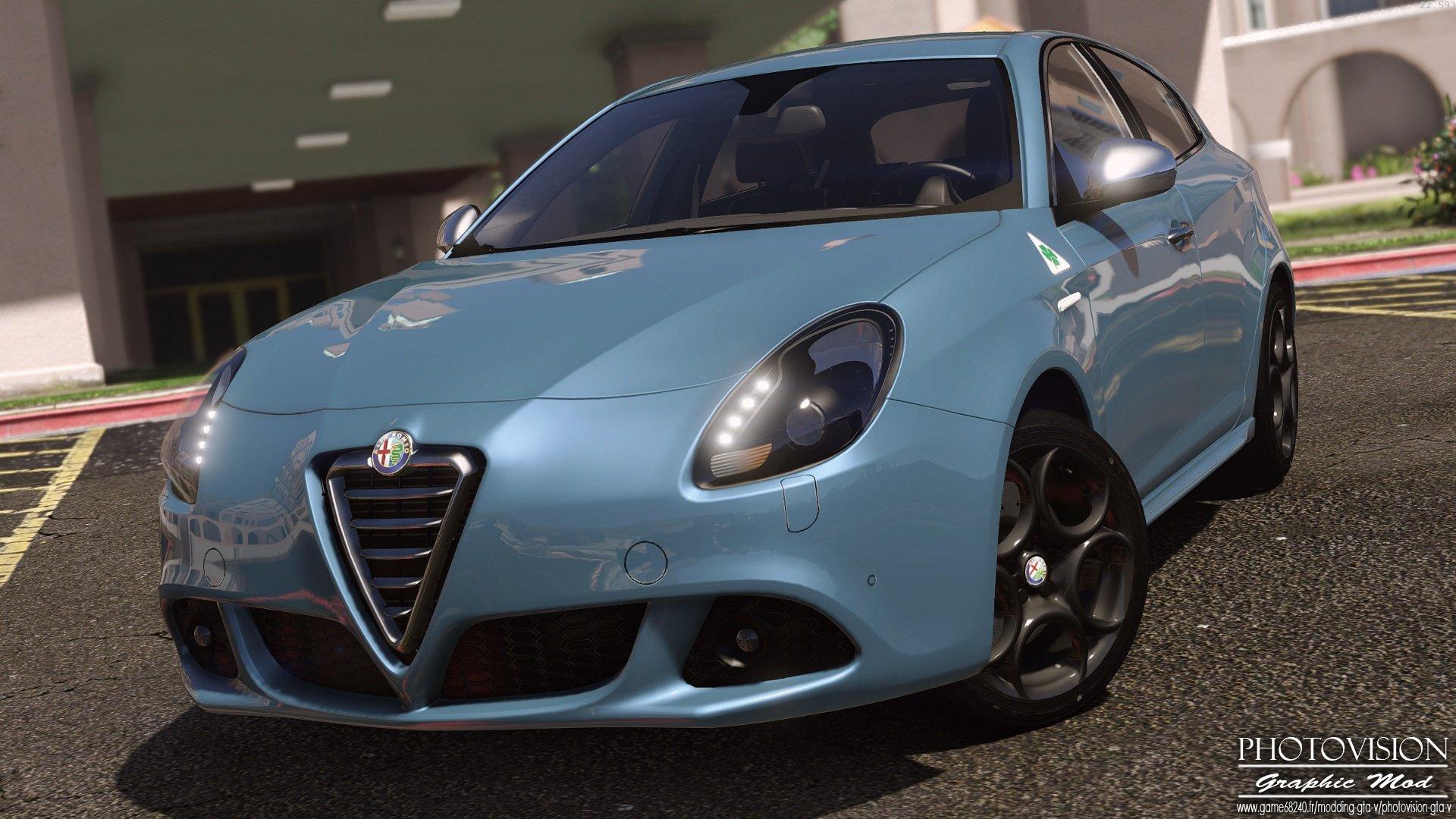 Alfa Romeo Giulietta Quadrifoglio Verde Add Replace GTA5