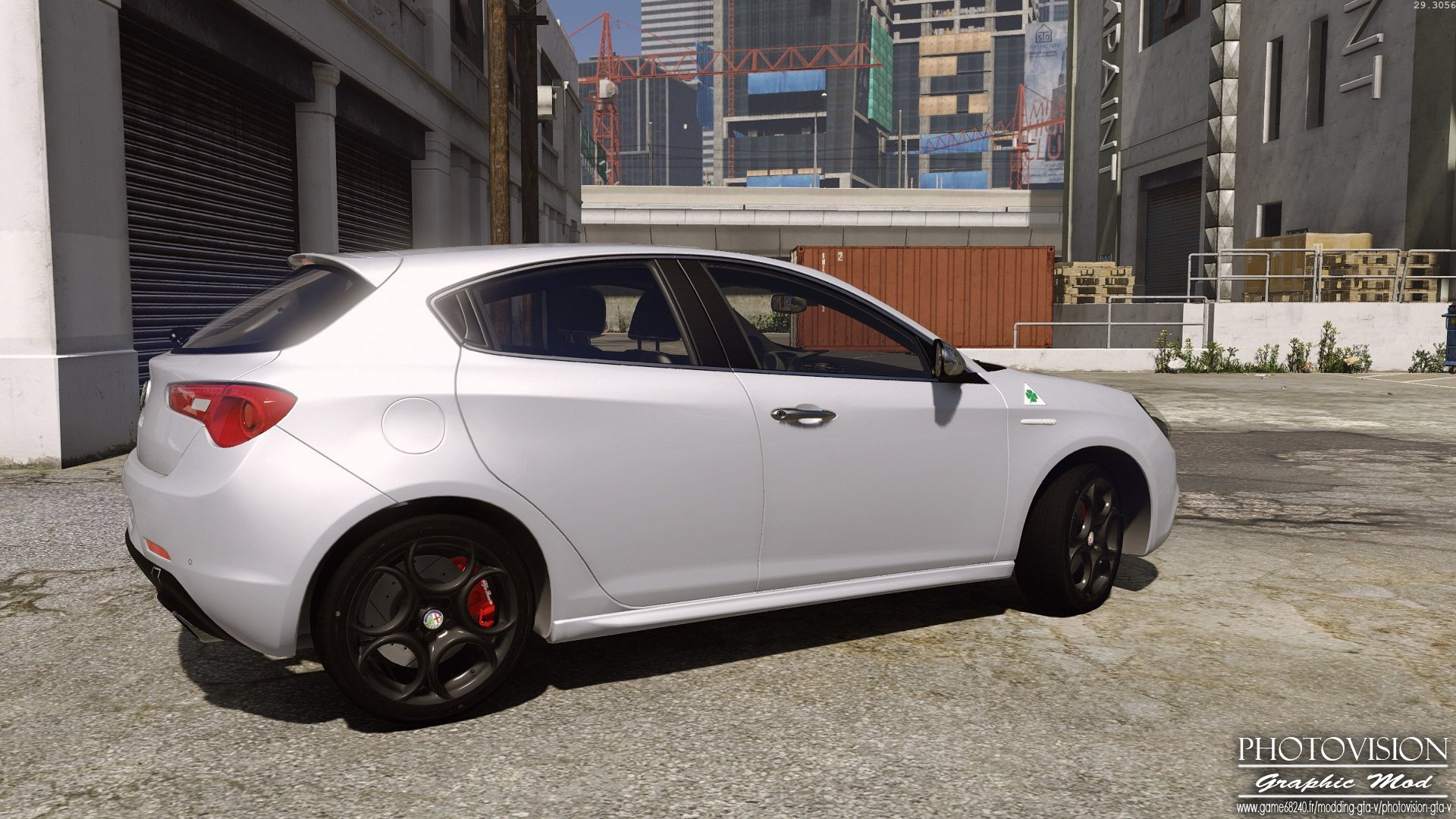 alfa romeo giulietta quadrifoglio verde add on replace gta5. Black Bedroom Furniture Sets. Home Design Ideas