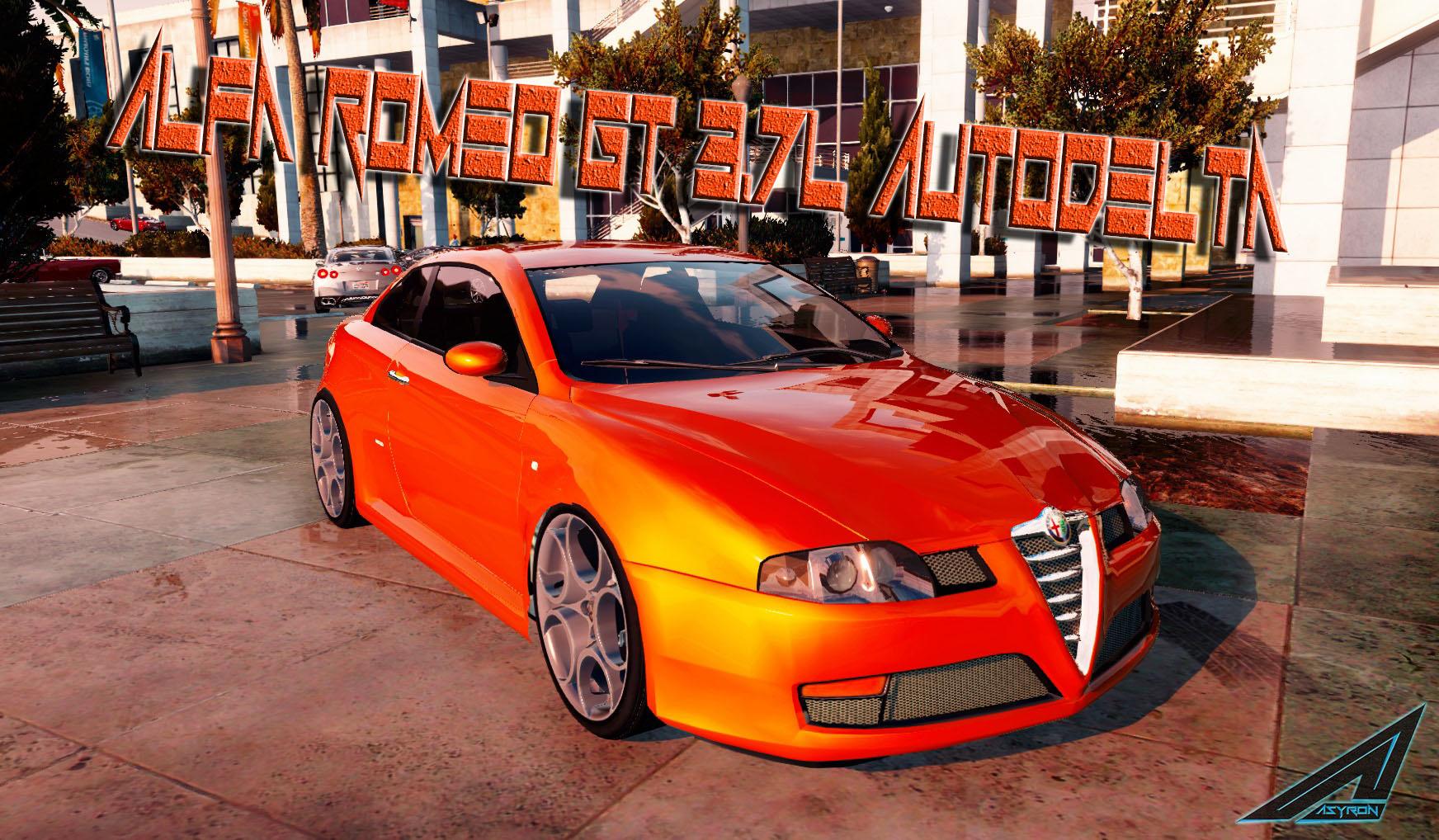Alfa Romeo Gt 3 7l Autodelta Add On Replace Gta5 Mods Com