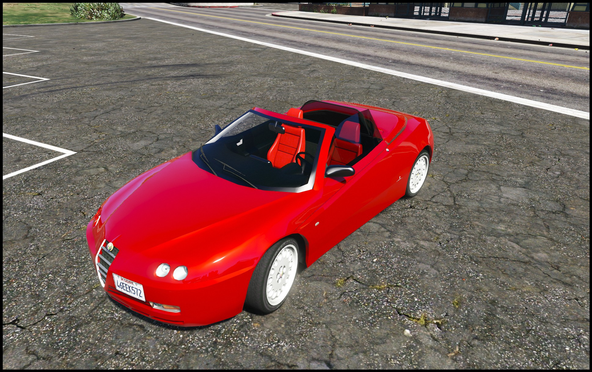 Alfa Romeo Spider 916 [Add Replace] GTA5 Mods