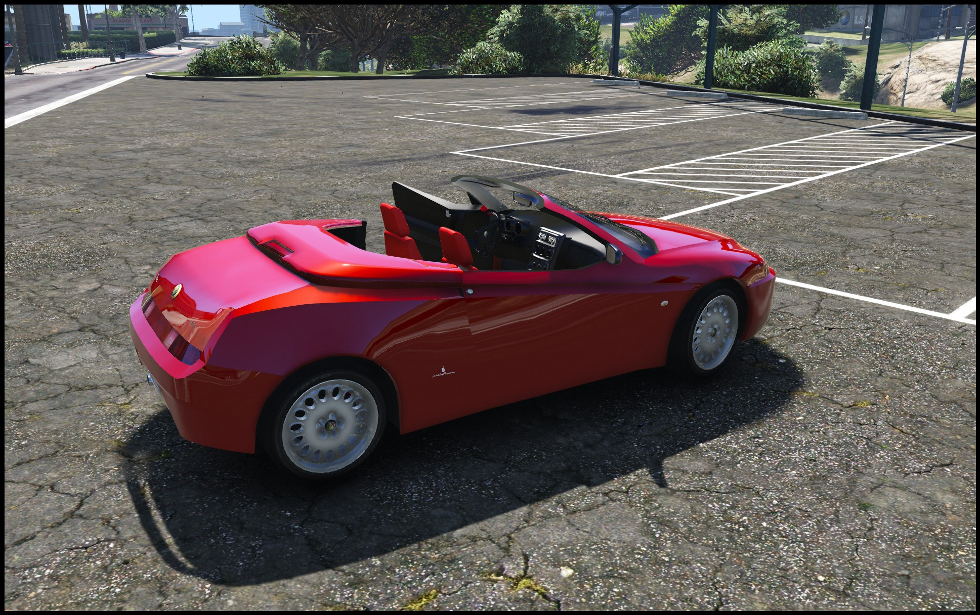 alfa romeo spider 916 add on replace gta5. Black Bedroom Furniture Sets. Home Design Ideas