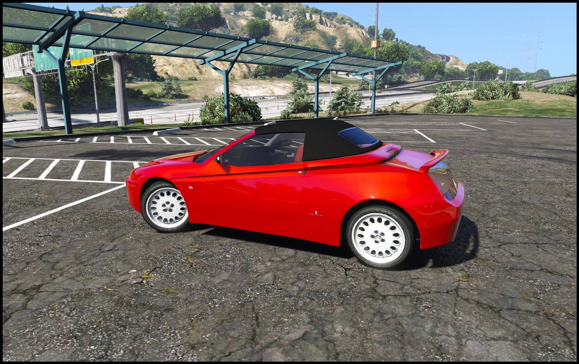 Alfa Romeo Spider 916 [Add Replace] GTA5 Mods