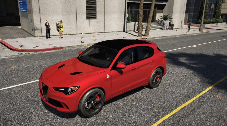 Alfa Romeo Stelvio Quadrifoglio 2018 [Add-On] - GTA5-Mods com