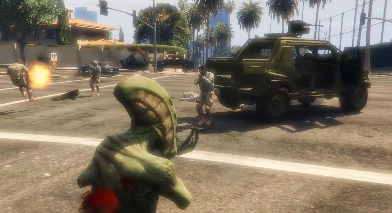 Alien Invasion - GTA5-Mods com