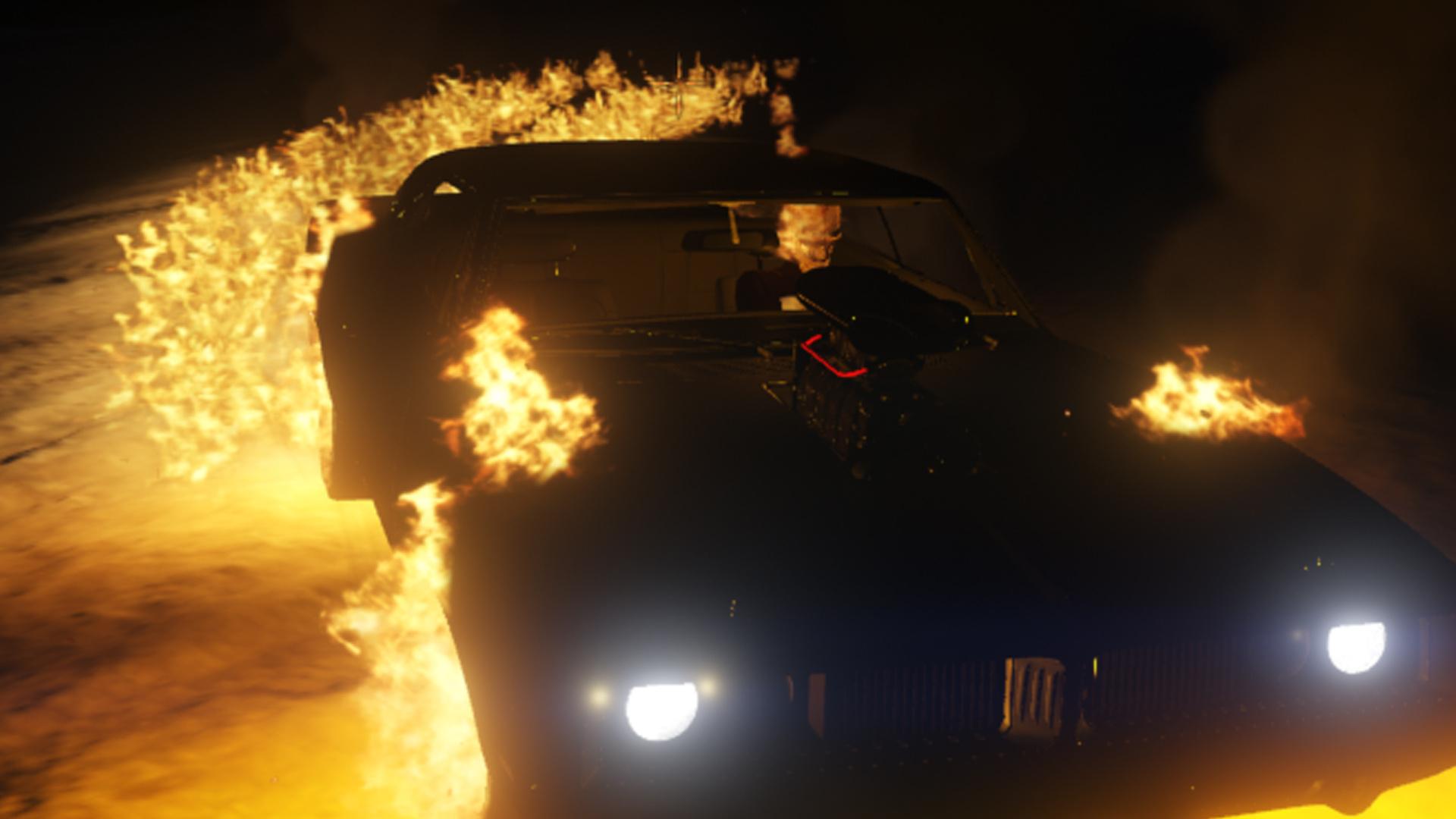 Ghost Rider (Robbie Reyes) [Agent of Shield season 4] - GTA5
