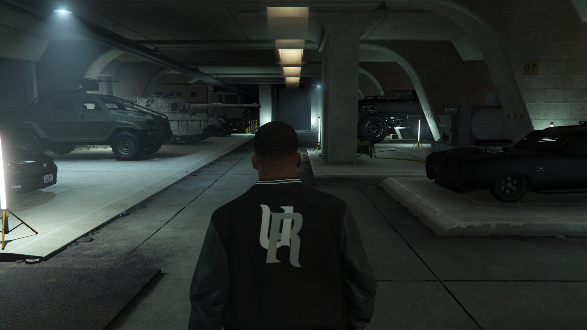 gta online store cars in bunker