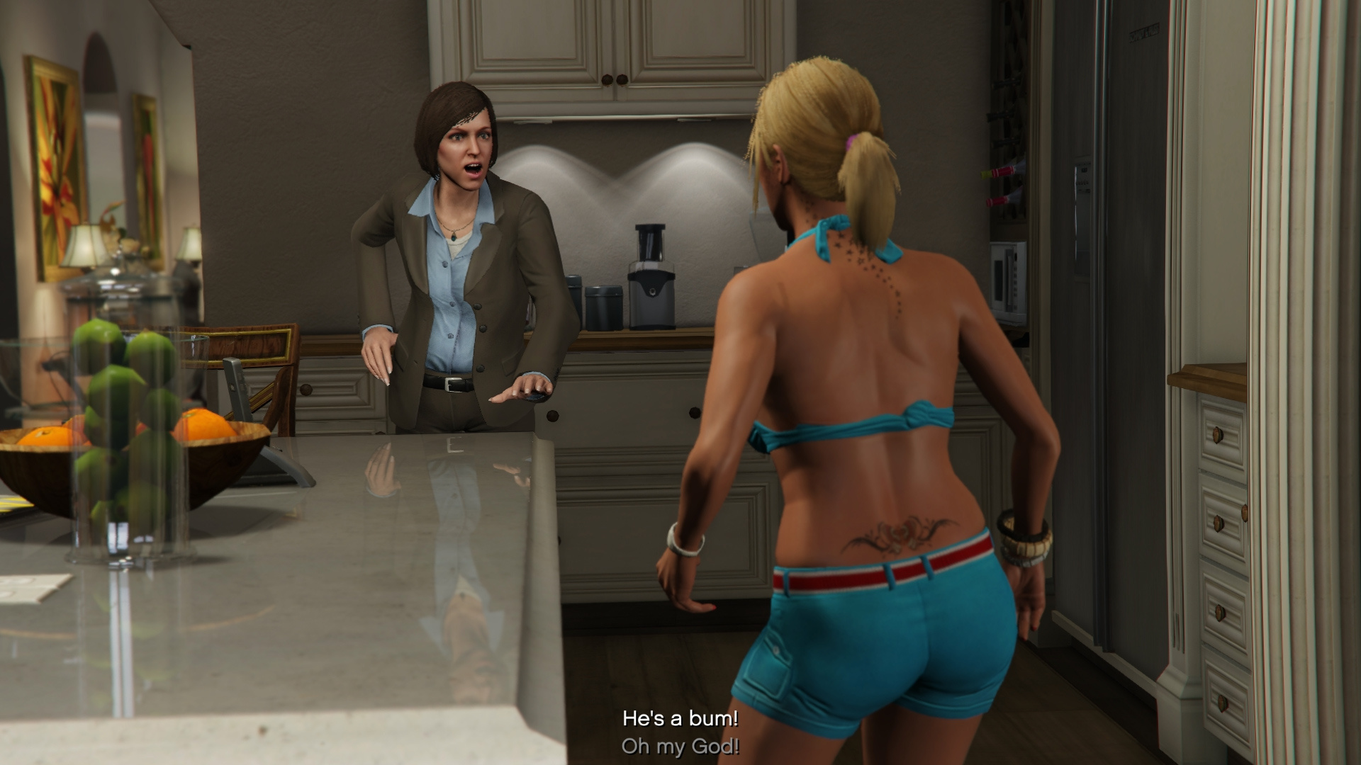 Grand theft auto v naked amanda sex scenes
