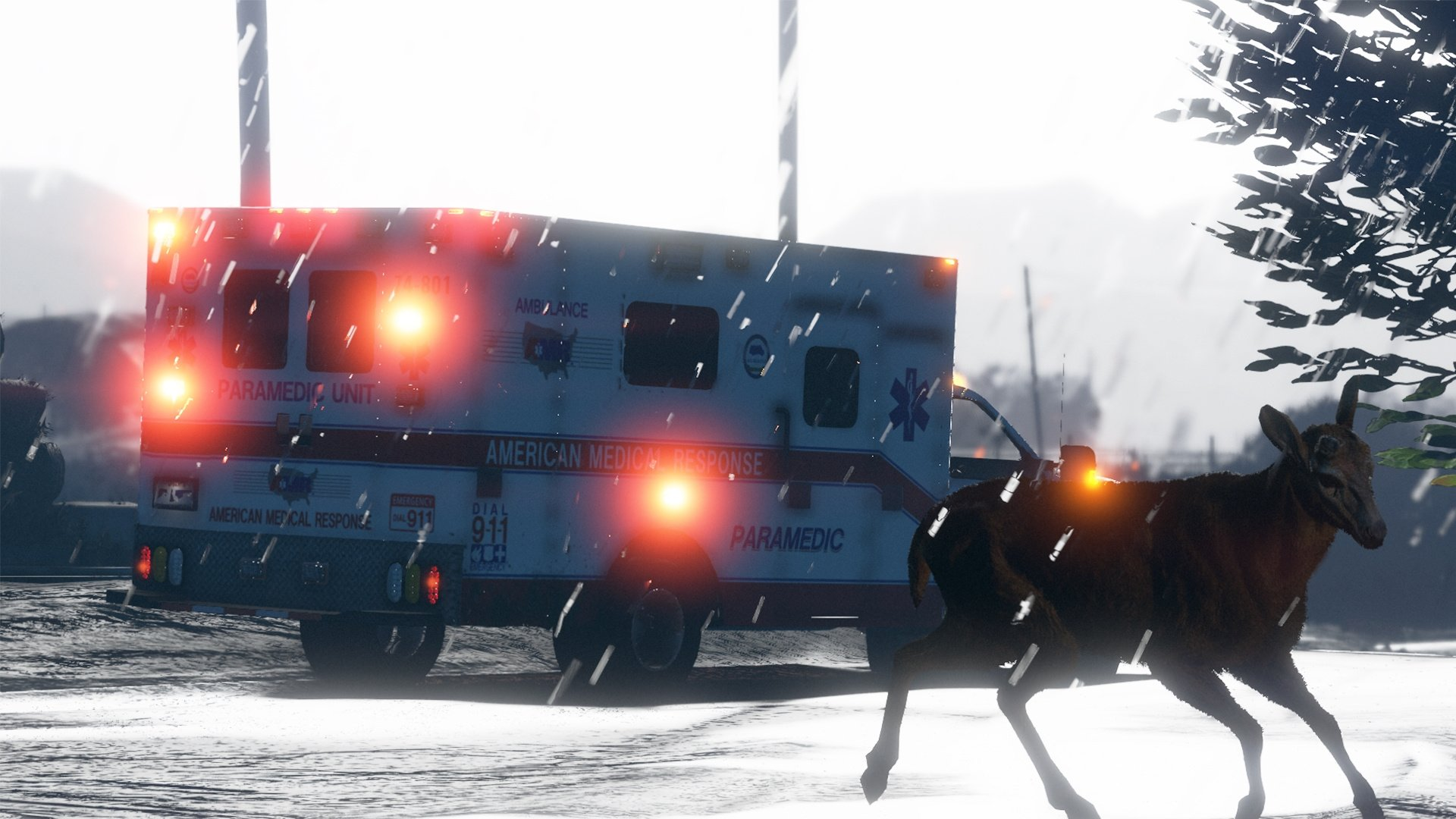 American Medical Response Amr Ambulance Skin Pack Gta5