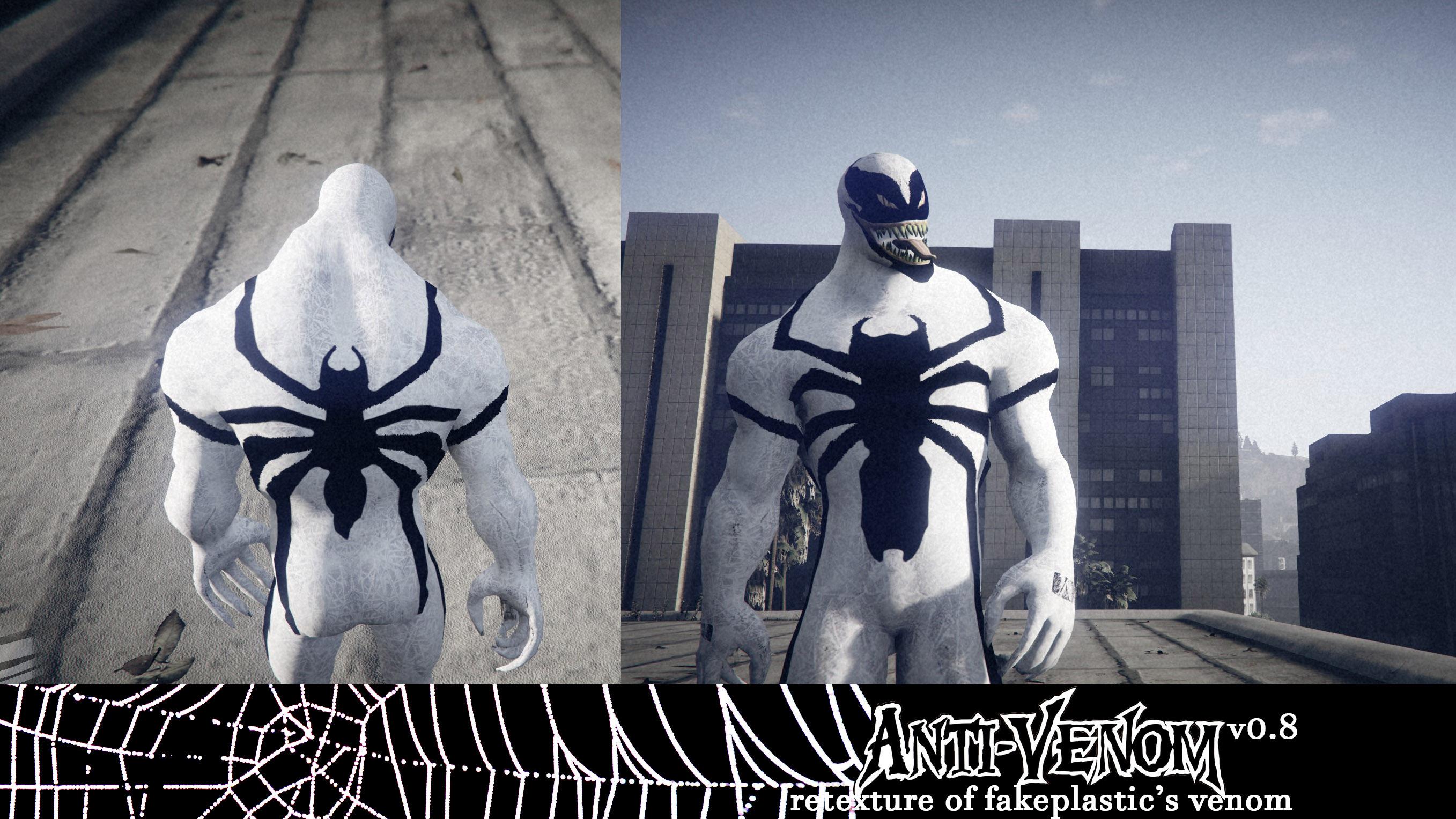 Antivenom [Retexture for fakeplastic's Venom] - GTA5-Mods com