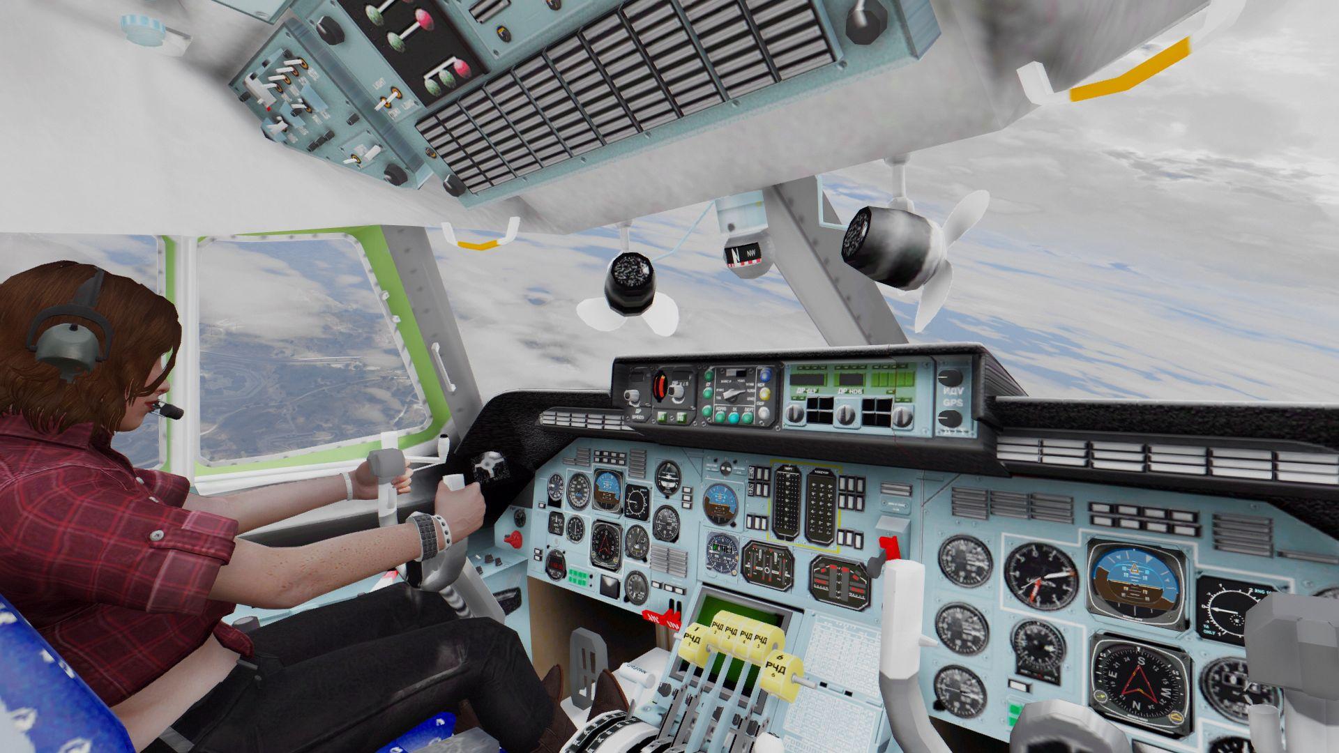 Antonov An 225 Mriya Buran Carrier Add On Gta5 Mods Com