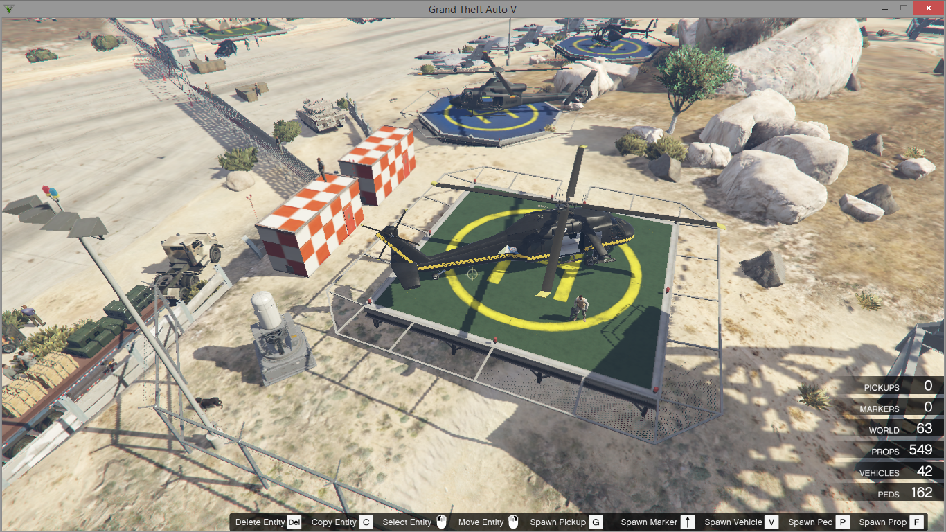 Area 51 gta5 for Area 51 progetti