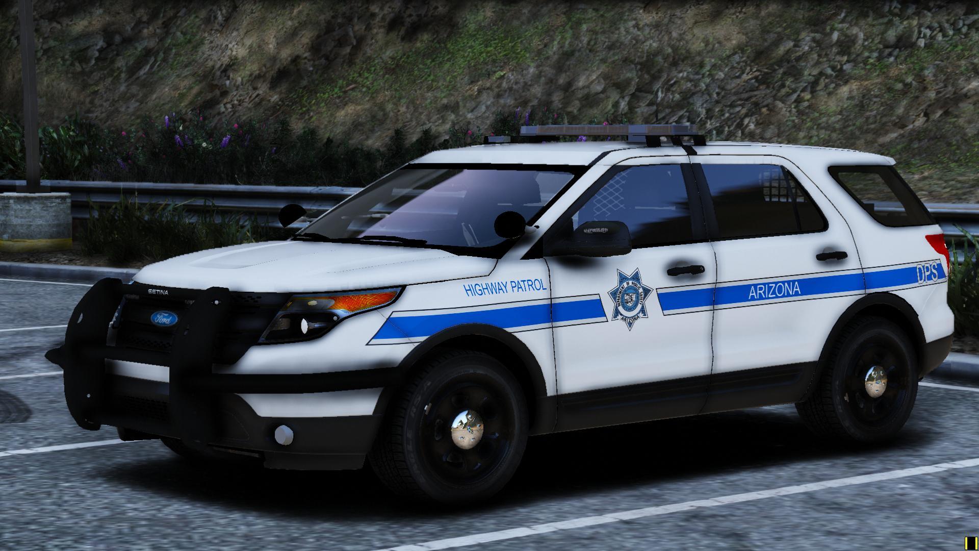 Arizona DPS Highway Patrol 2013 FPIU  GTA5Modscom