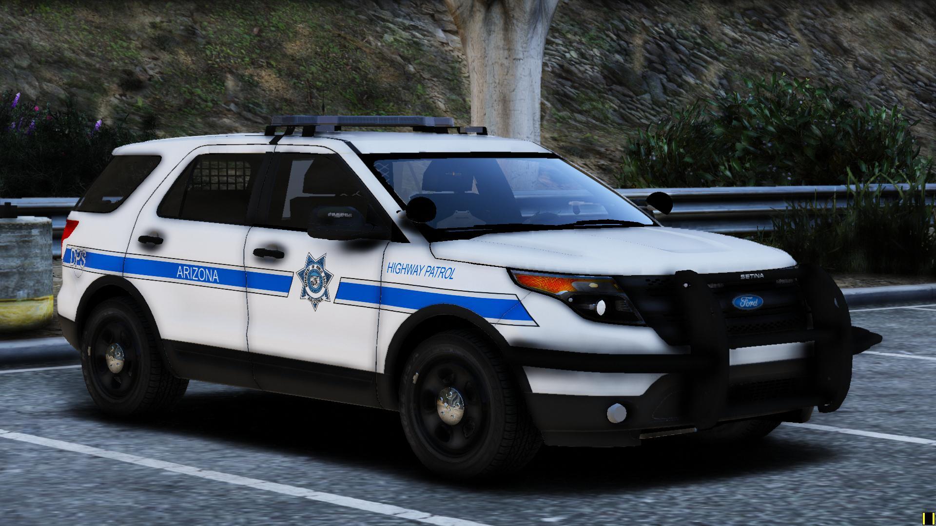 arizona dps highway patrol  fpiu gta modscom