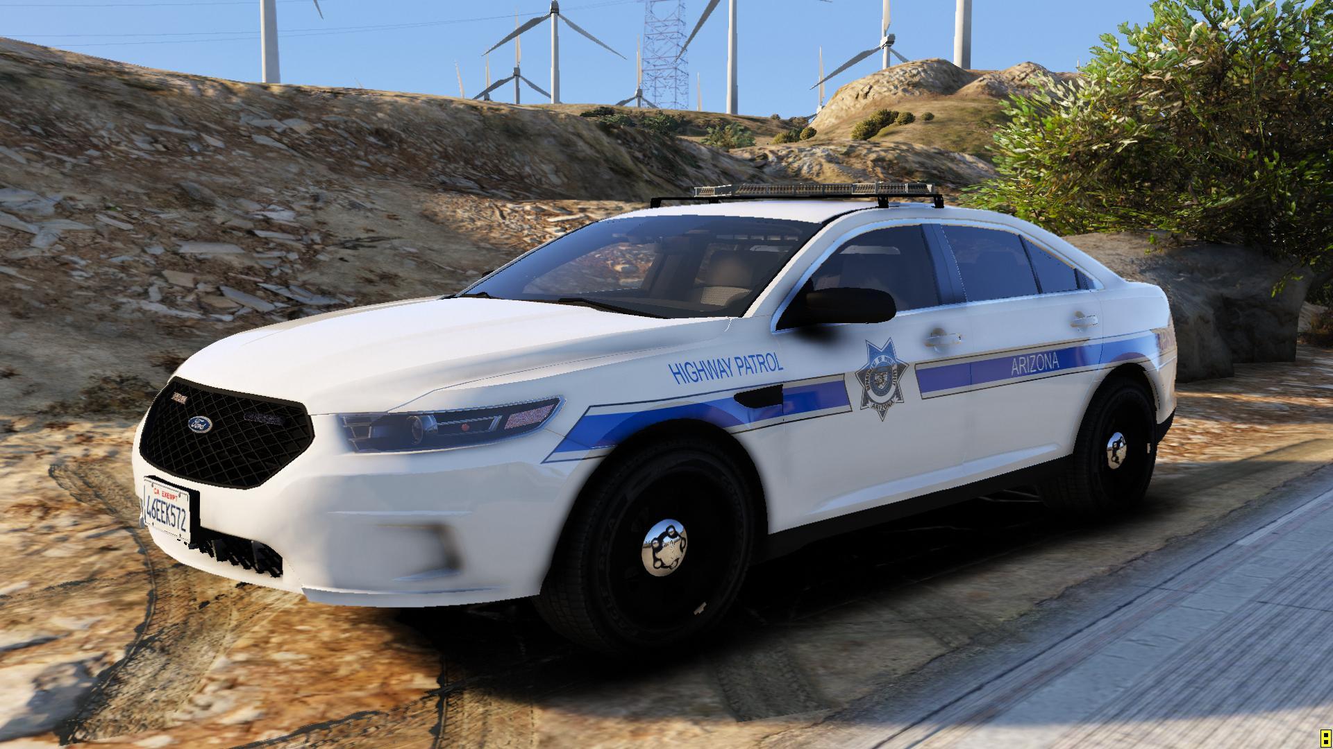 Arizona DPS Highway Patrol 2016 FPIS  GTA5Modscom