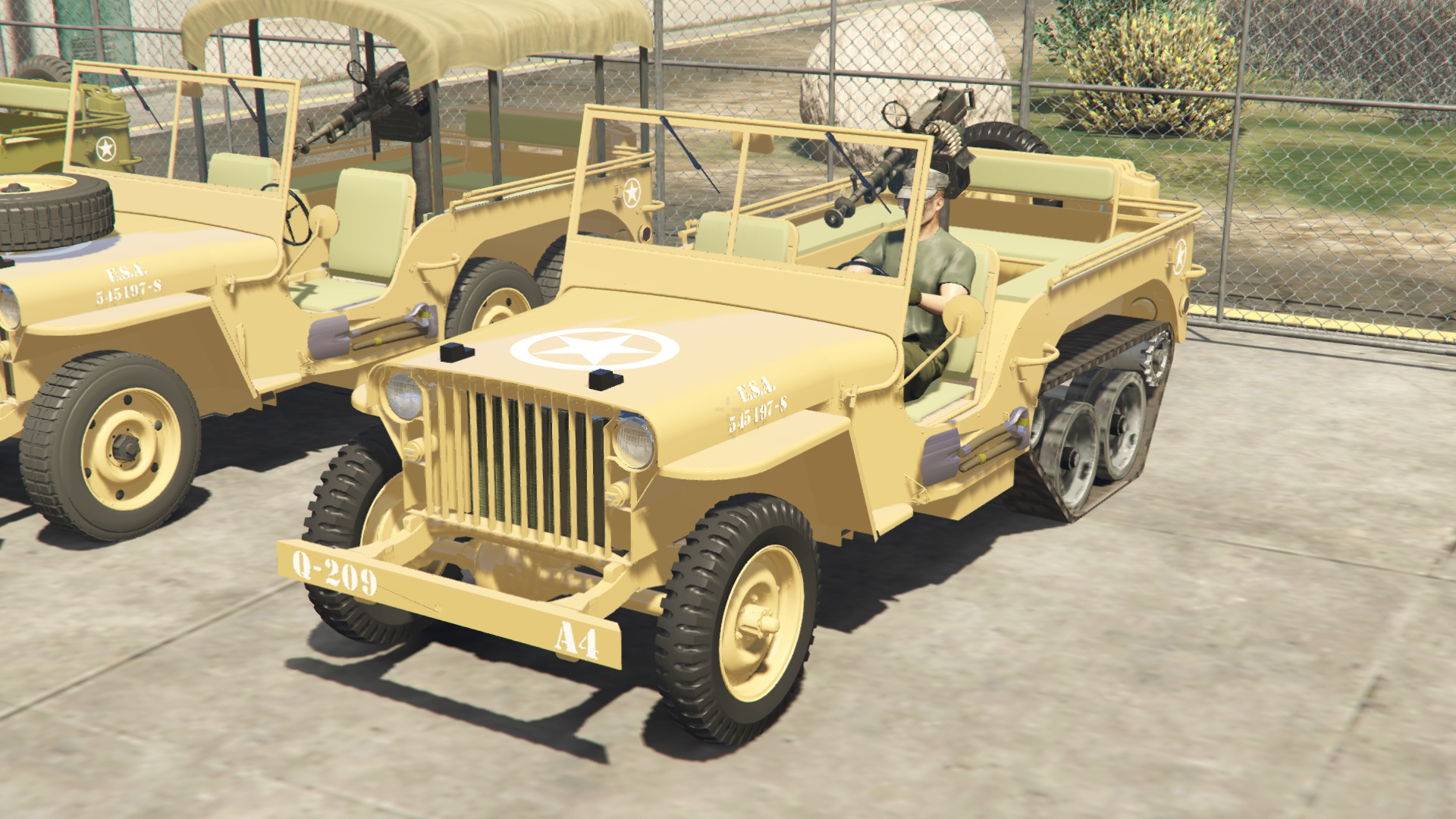 army jeeps and artillery trailers pack gta5. Black Bedroom Furniture Sets. Home Design Ideas