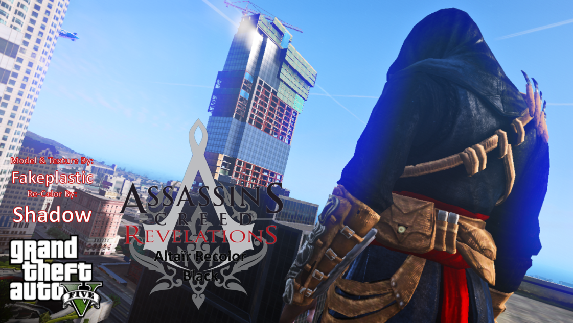 Assassin S Creed Revelations Altair Outfit Recolor To Black Gta5