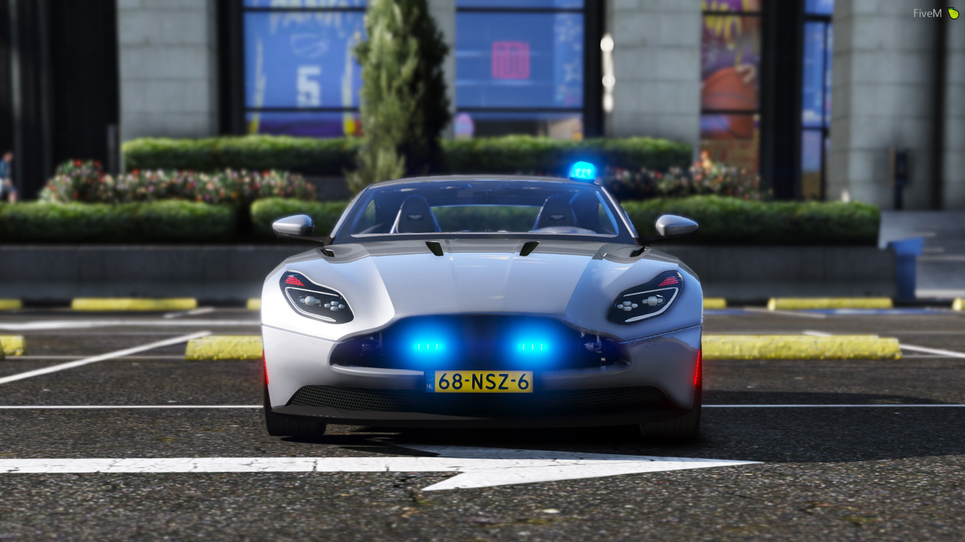 Aston Martin Db11 Police Politie Unmarked Els Replace Gta5 Mods Com