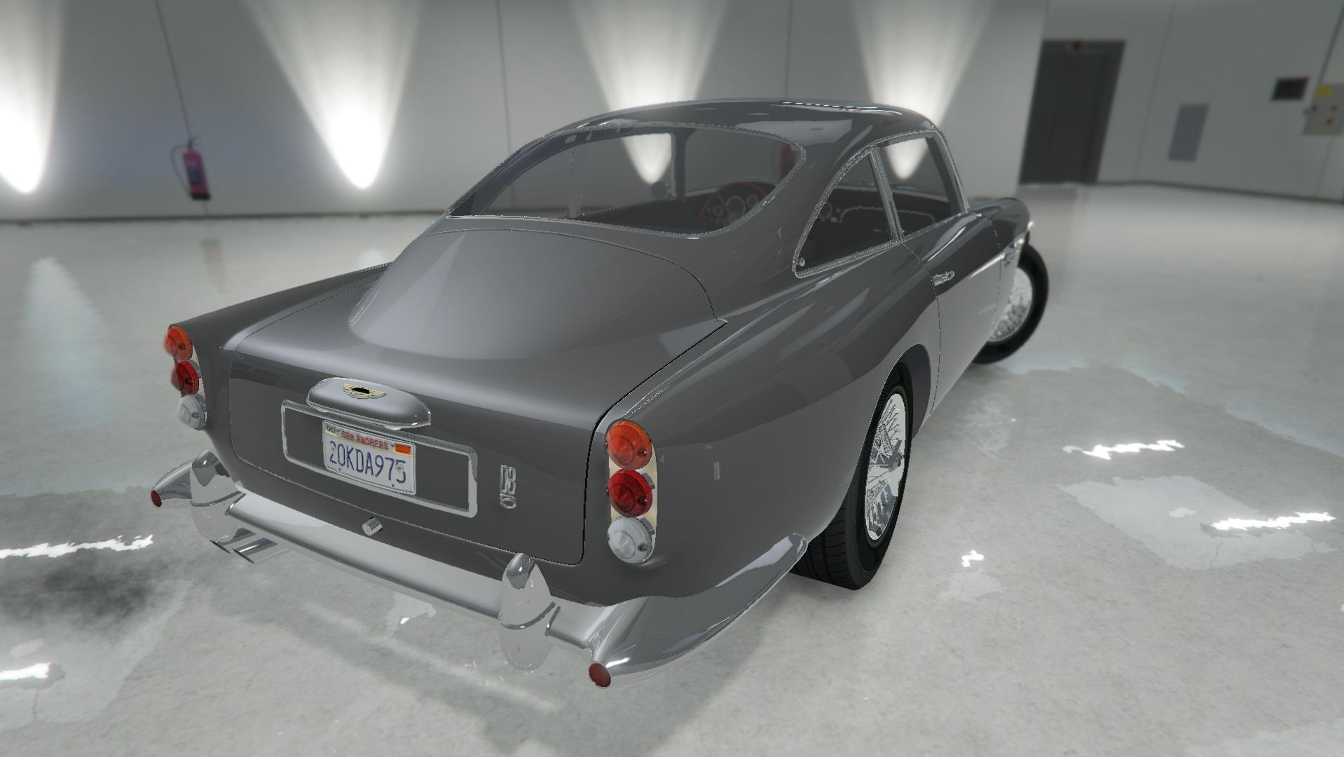 Aston Martin DB5 Vantage 1965 GTA5 Mods