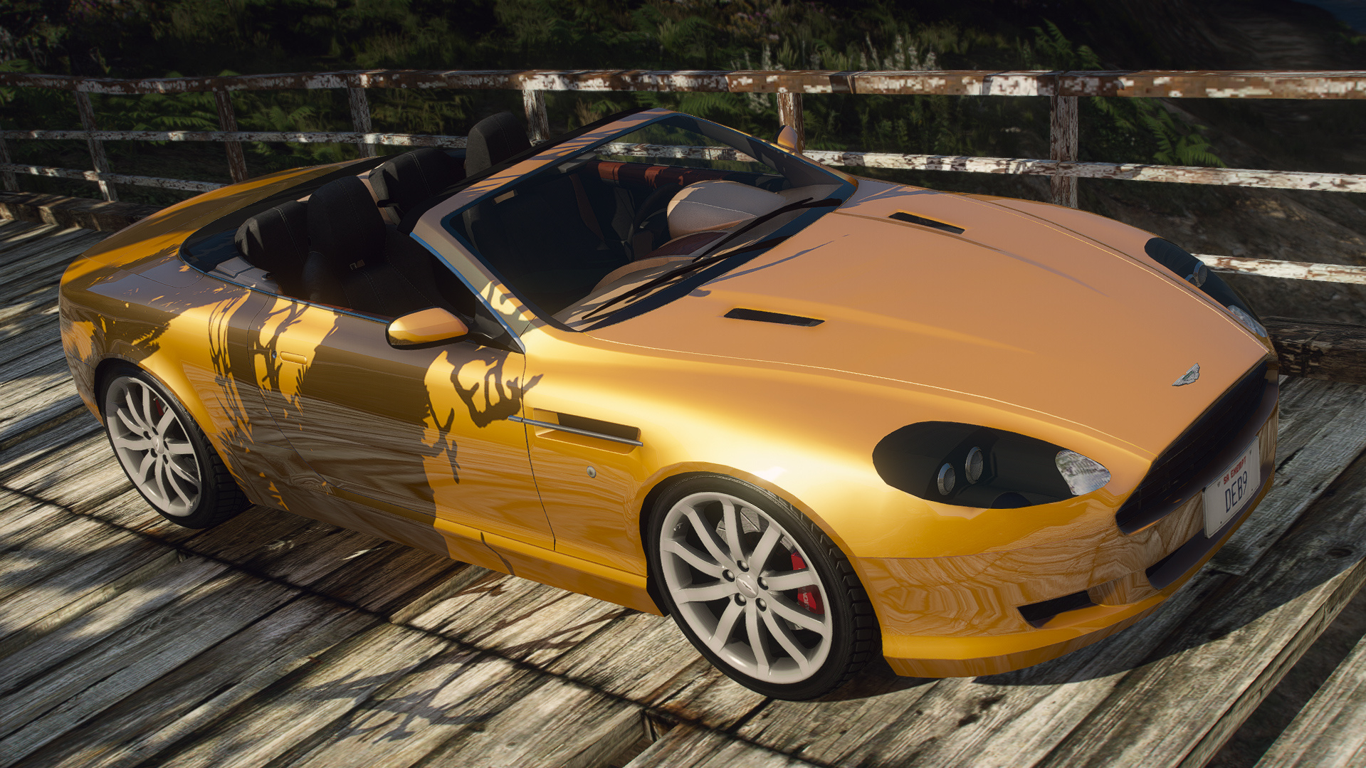 Aston Martin Db9 Volante Replace Gta5 Mods Com
