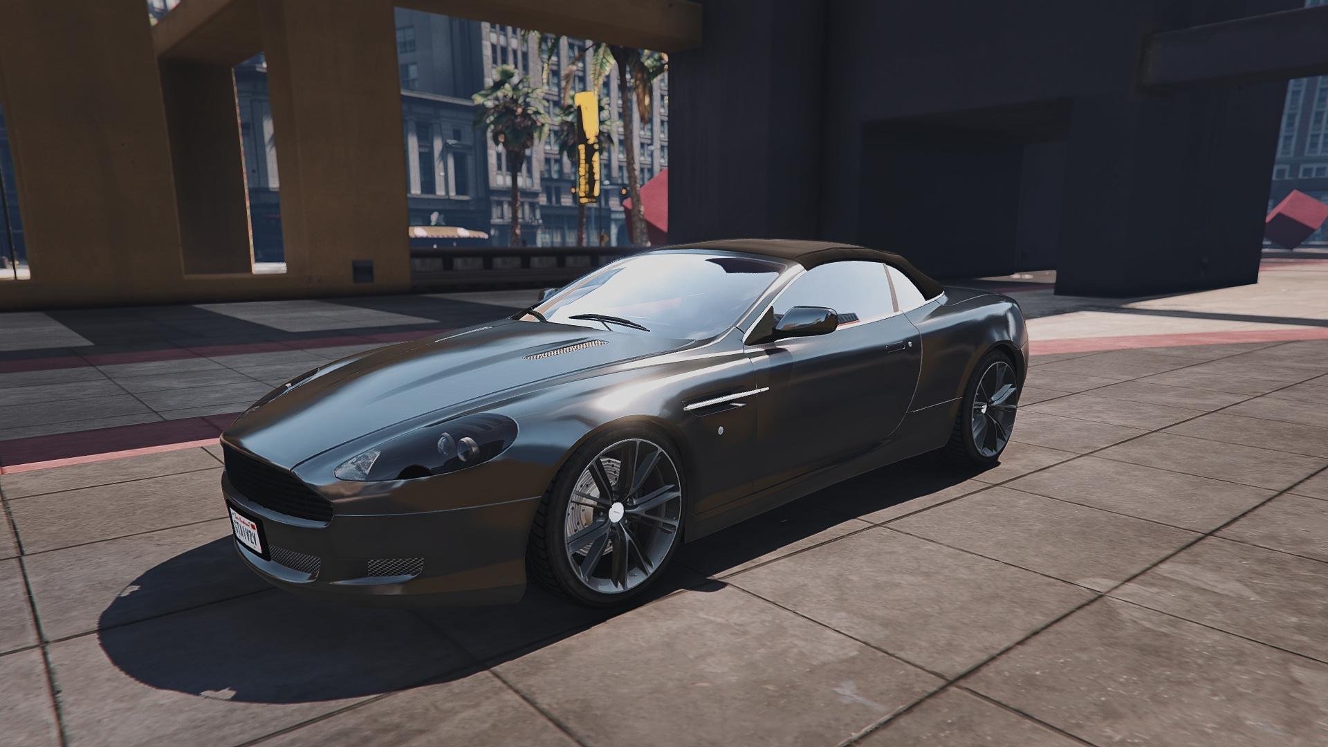 Aston Martin DB Volante AddOn Replace GTAModscom - Aston martin db9 volante
