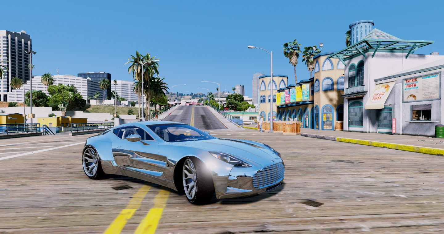 aston martin one 77 baby blue. aston martin one77 edition addon 20 one 77 baby blue