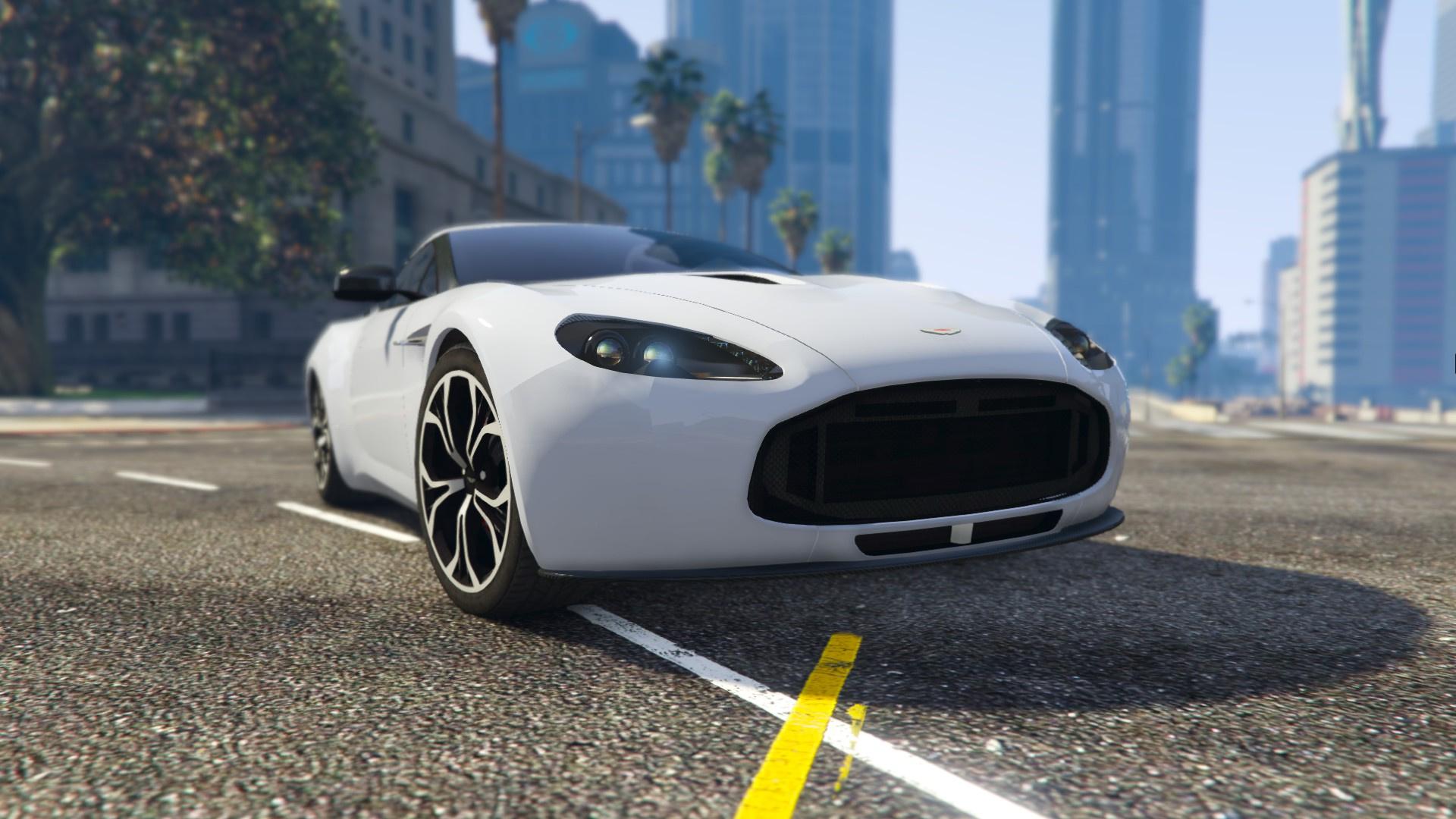 Aston Martin V Zagato GTAModscom - Aston martin v12 zagato