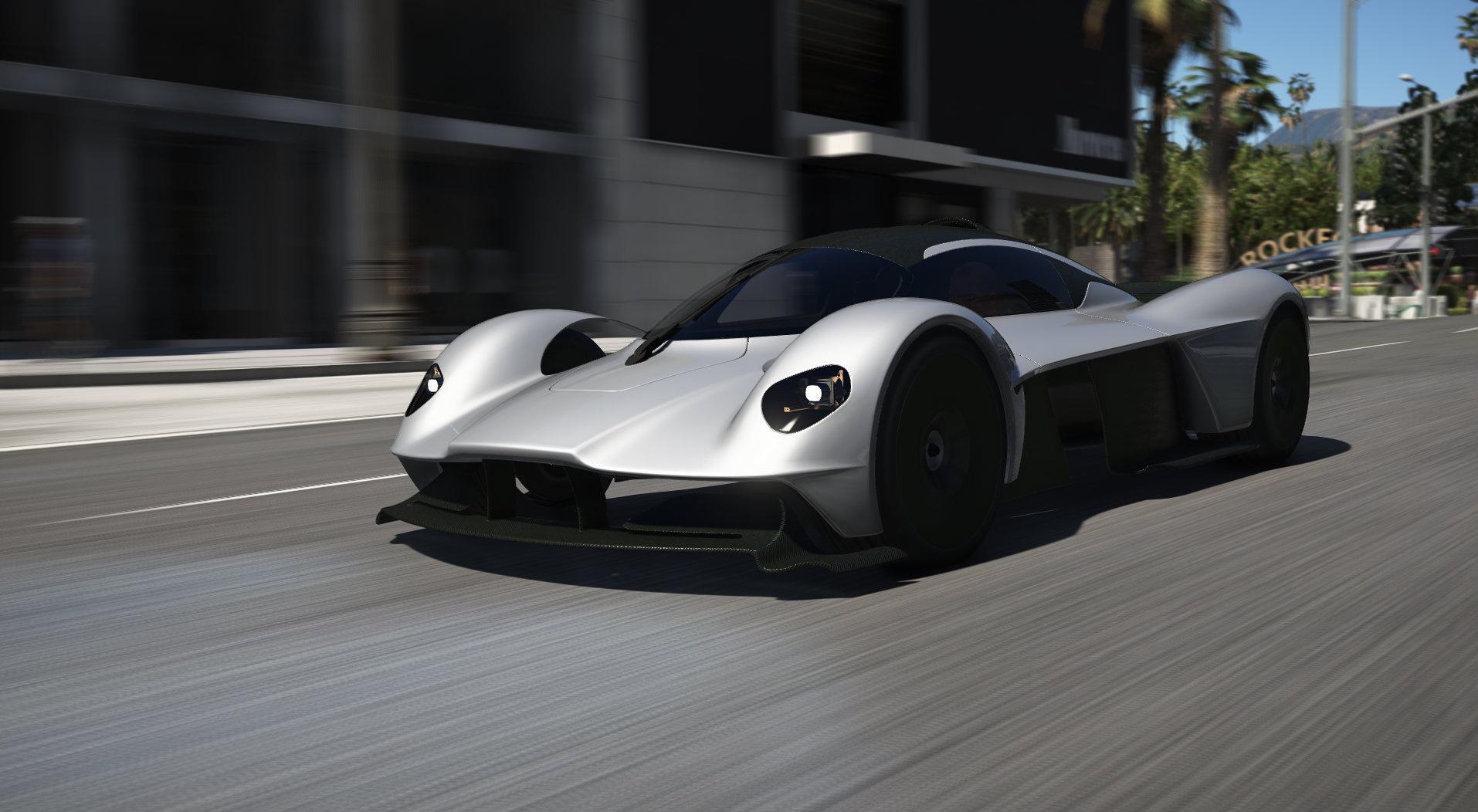 Aston Martin Valkyrie 2018 Add On Gta5 Mods Com