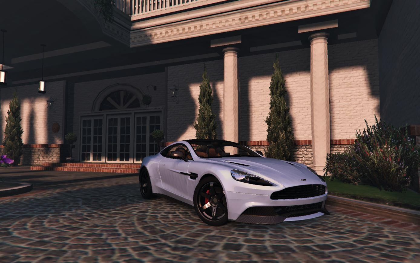 2013 Aston Martin Vanquish Real Life Handling Gta5 Mods Com