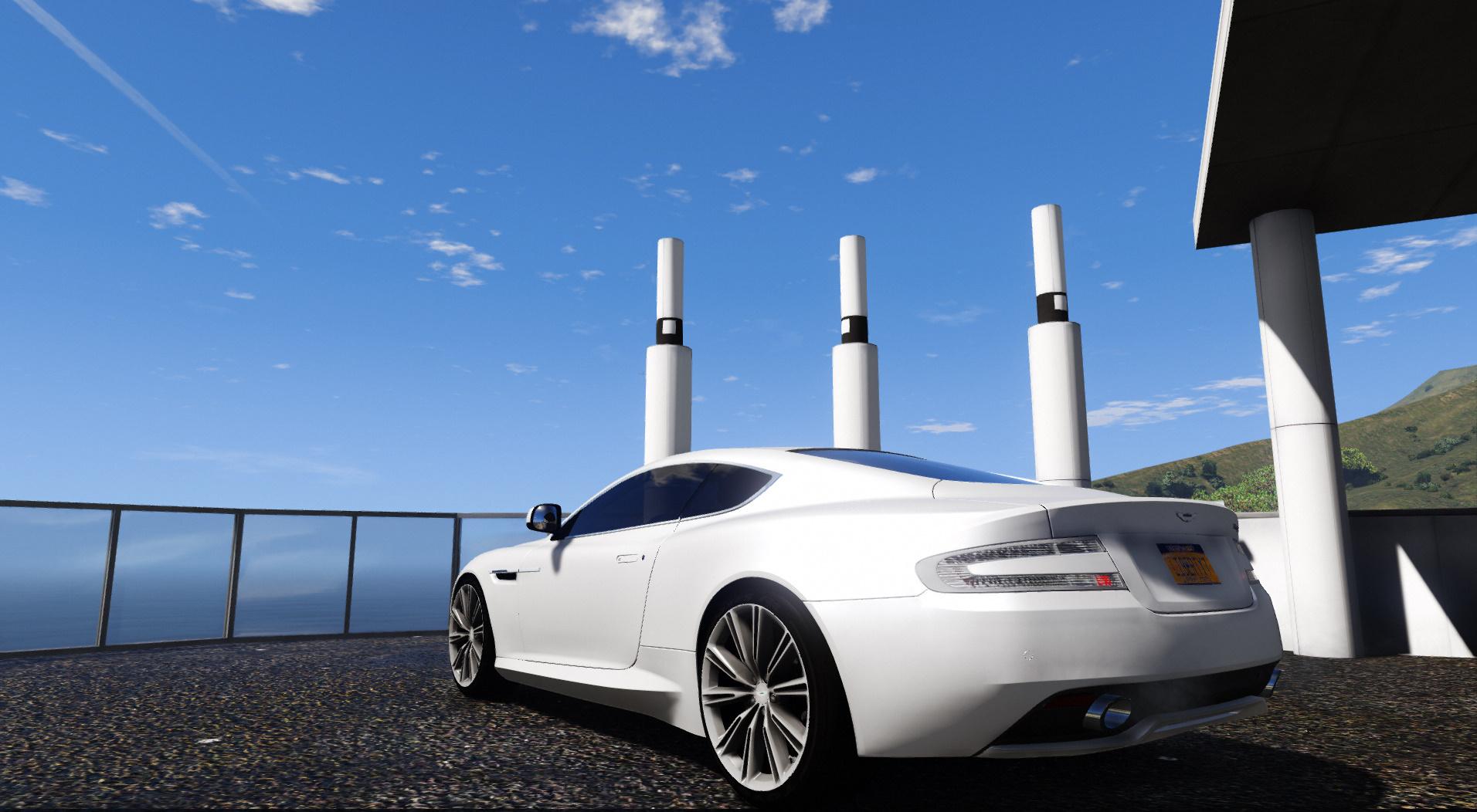Aston Martin Virage 2012 Add On Hq 3d Engine Dirt Gta5 Mods Com