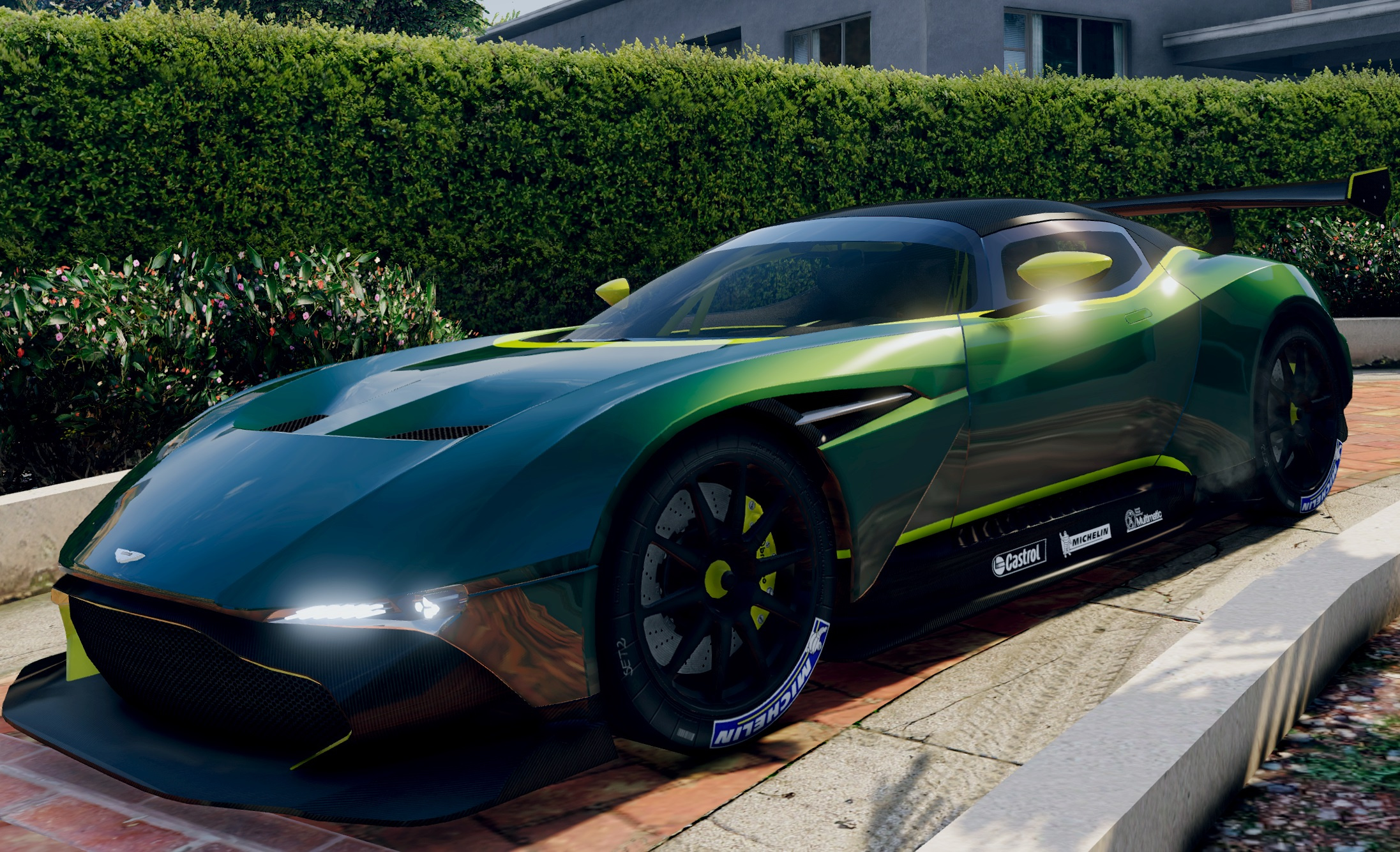 2016 aston martin vulcan gta5. Black Bedroom Furniture Sets. Home Design Ideas