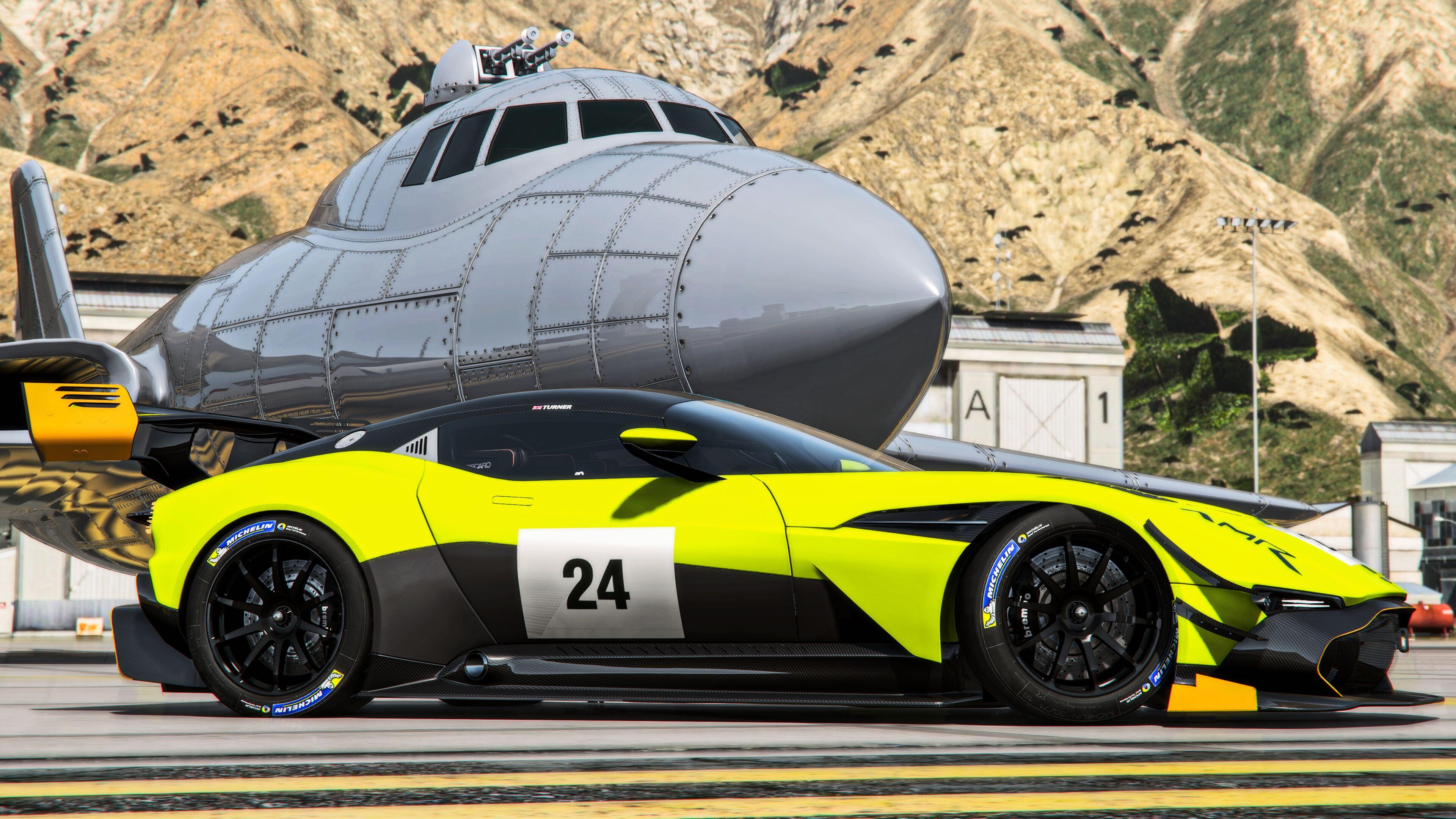 Aston Martin Vulcan Amr Pro 2019 Add On Gta5 Mods Com