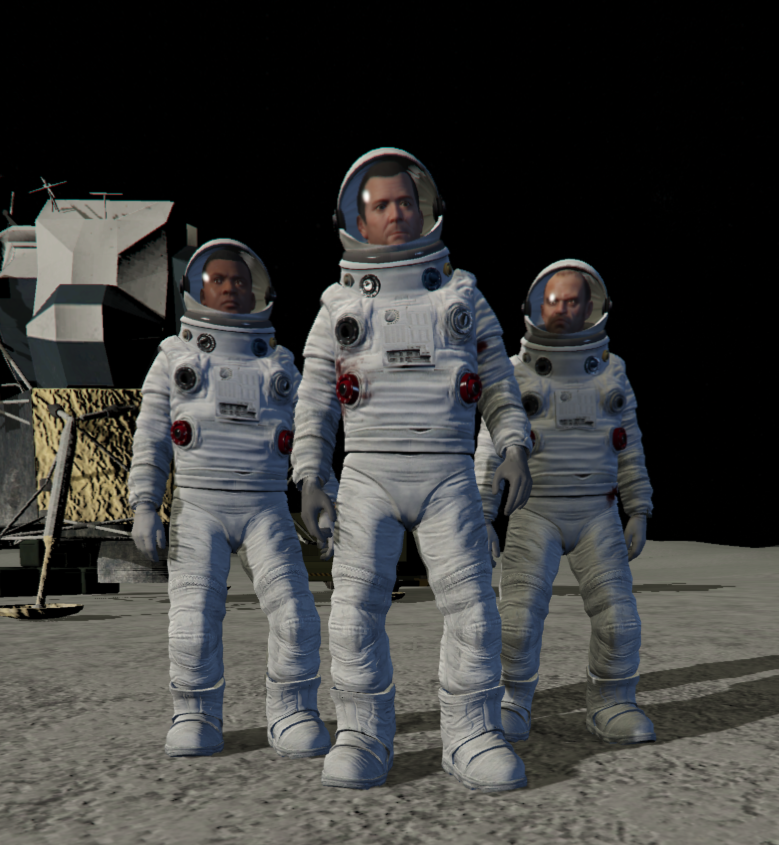 Astronaut suits for the protagonists - GTA5-Mods.com